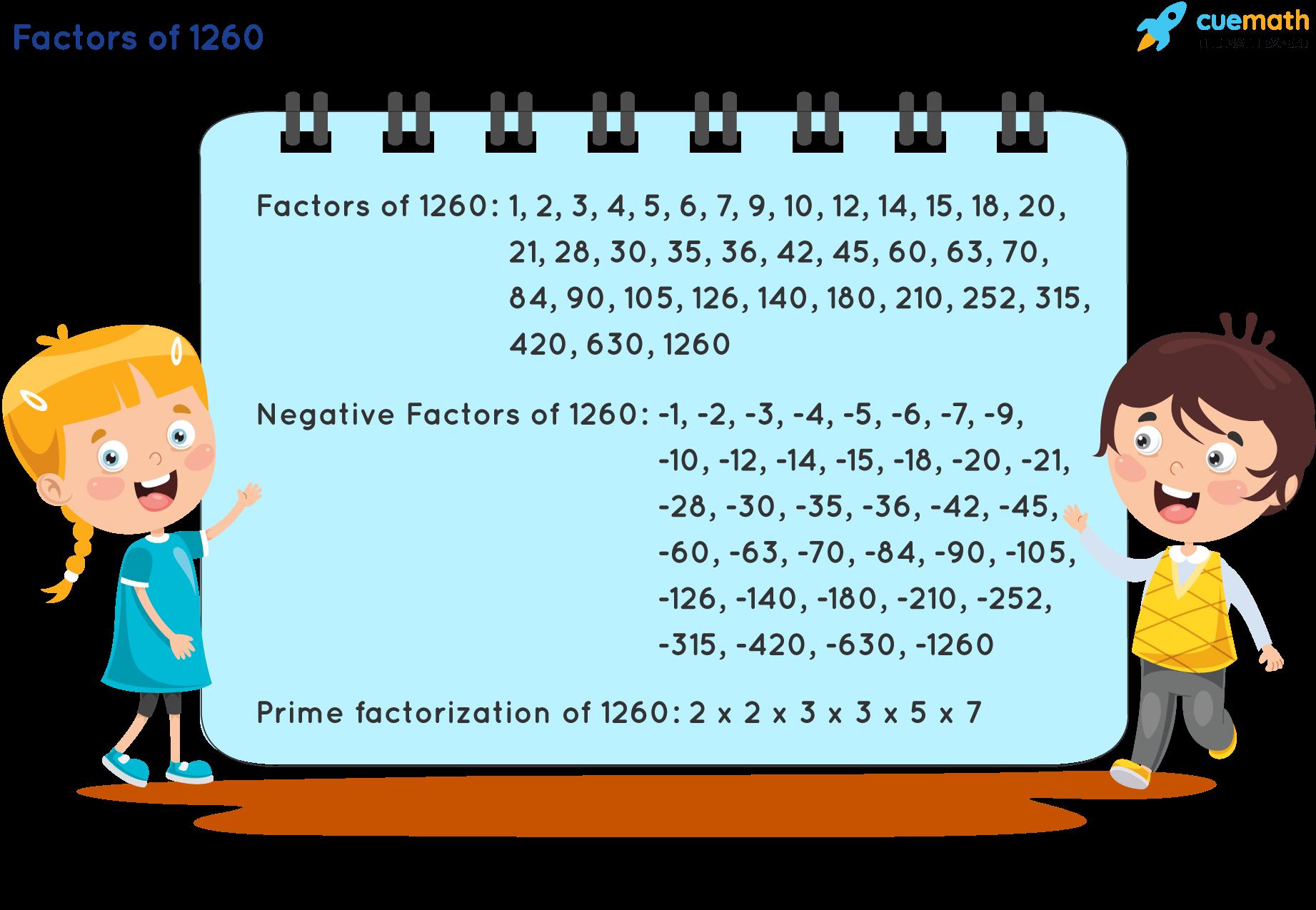 Factors of 1260