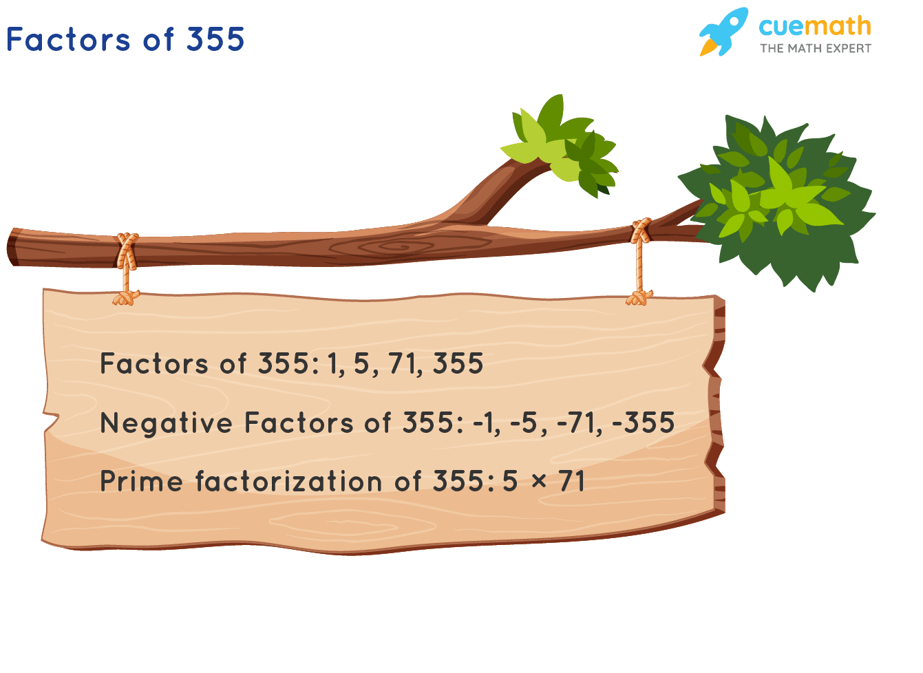 Factors of 355