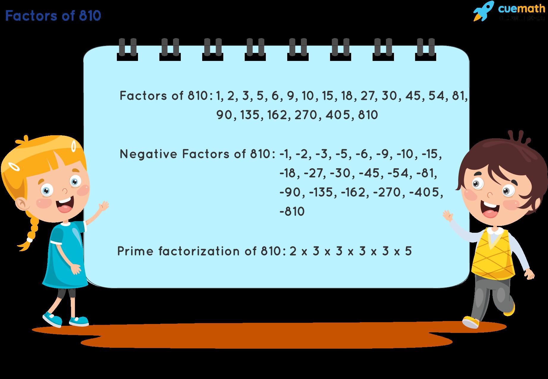 Factors of 810