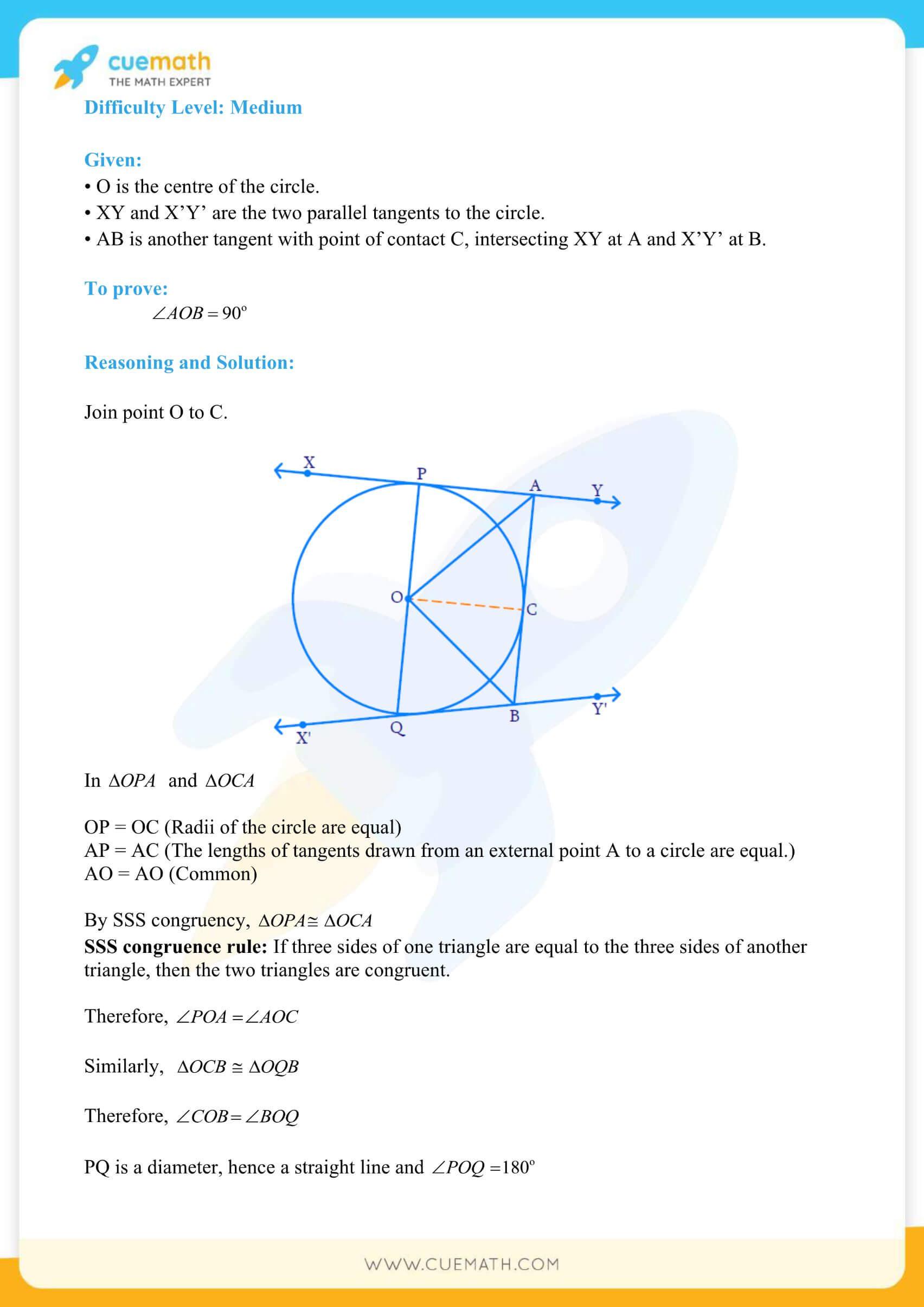 NCERT Solutions Class 10 Maths Chapter 10 Circles 15