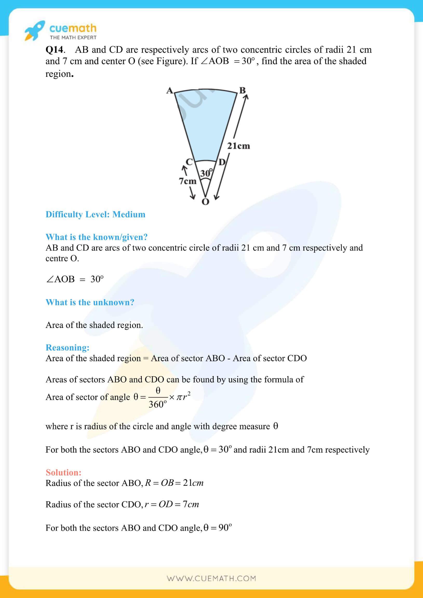 NCERT Solutions Class 10 Maths Chapter 12 Exercise 12.3 58