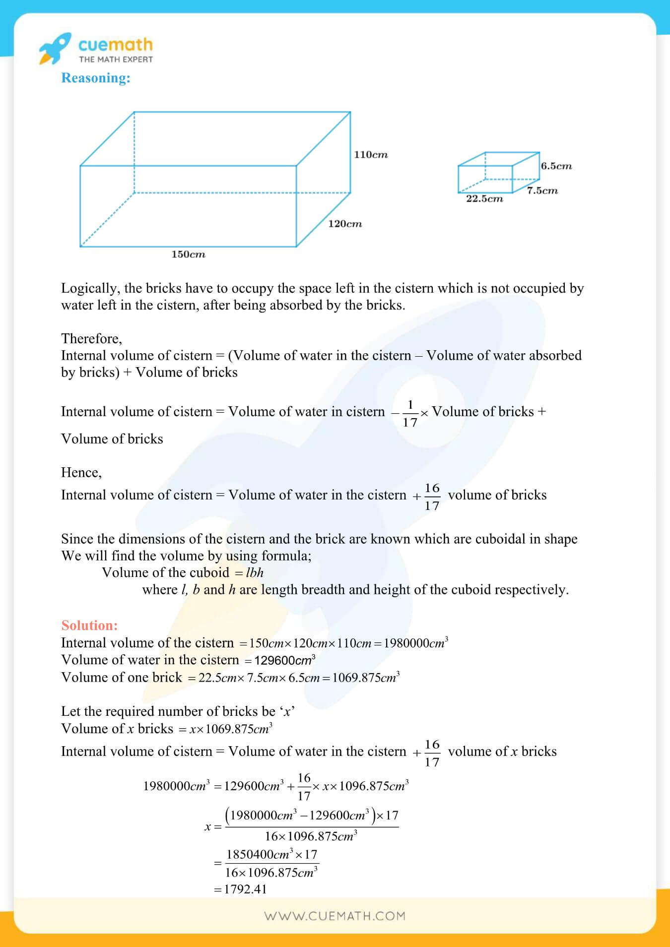 NCERT Solutions Class 10 Maths Chapter 13 Surface Area And Volumes 58