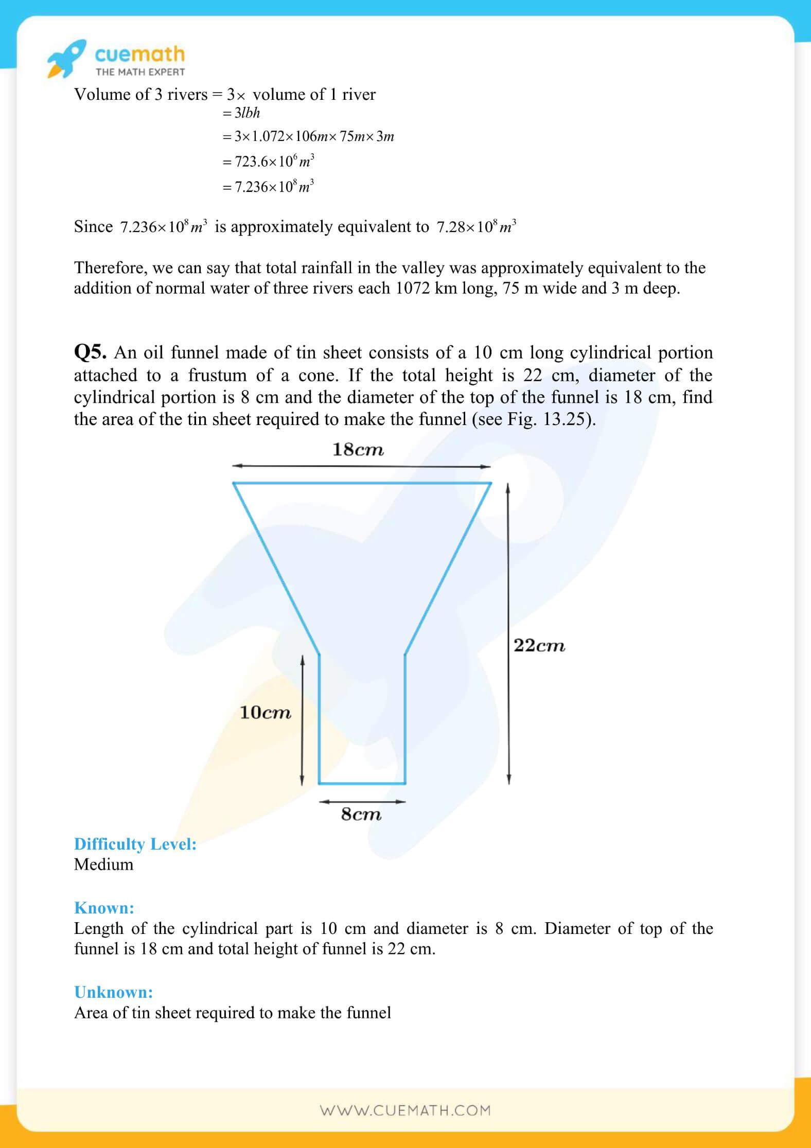 NCERT Solutions Class 10 Maths Chapter 13 Surface Area And Volumes 60