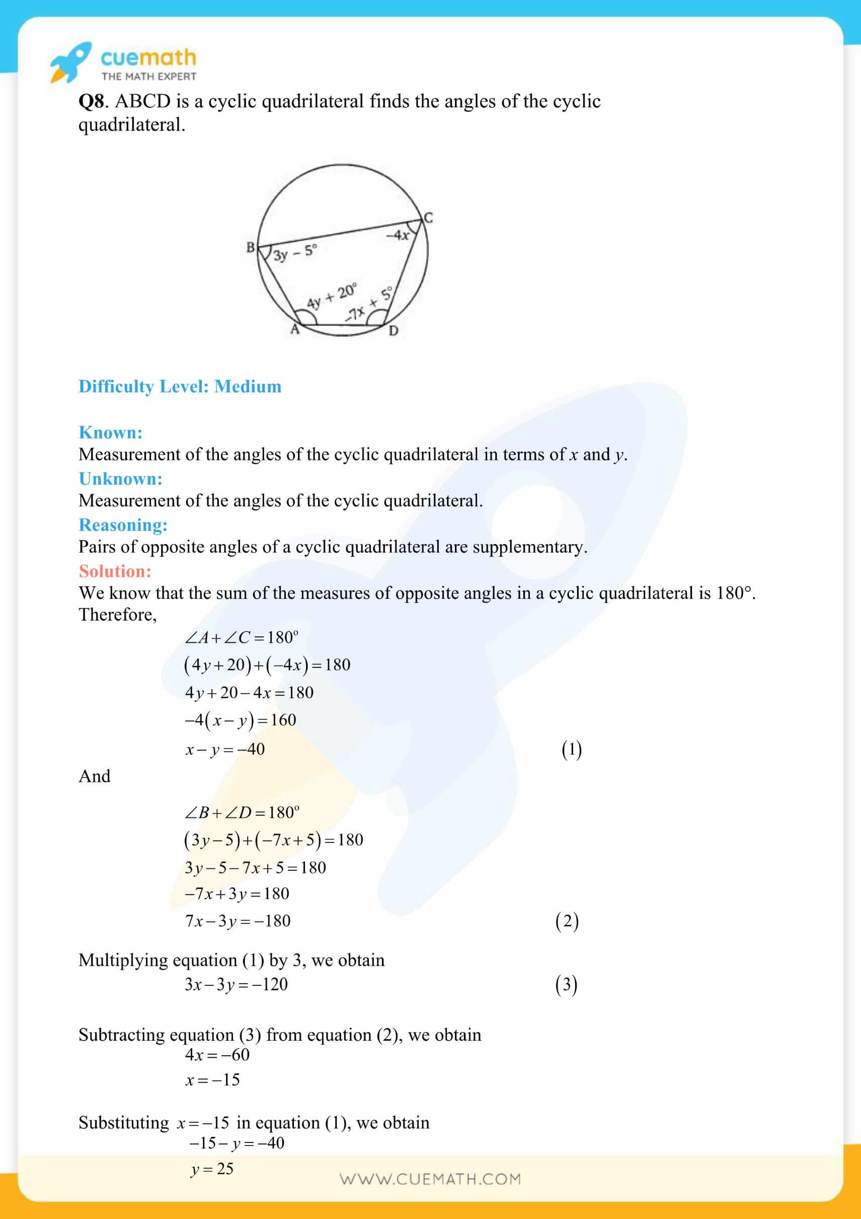 NCERT Solutions Class 10 Maths Chapter 3 Pair Of Linear Equations 11
