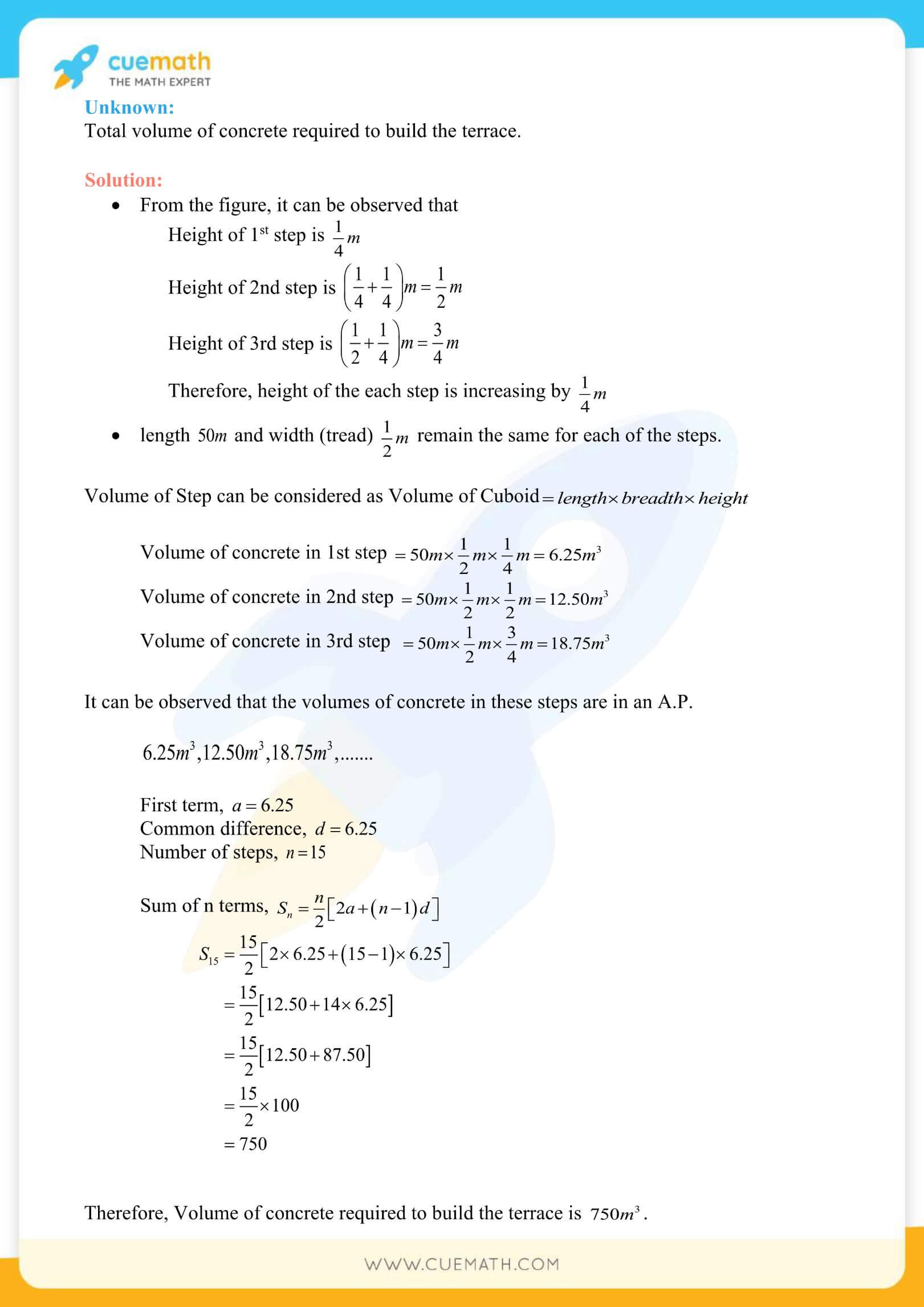 NCERT Solutions Class 10 Maths Chapter 5 Arithmetic Progressions 90