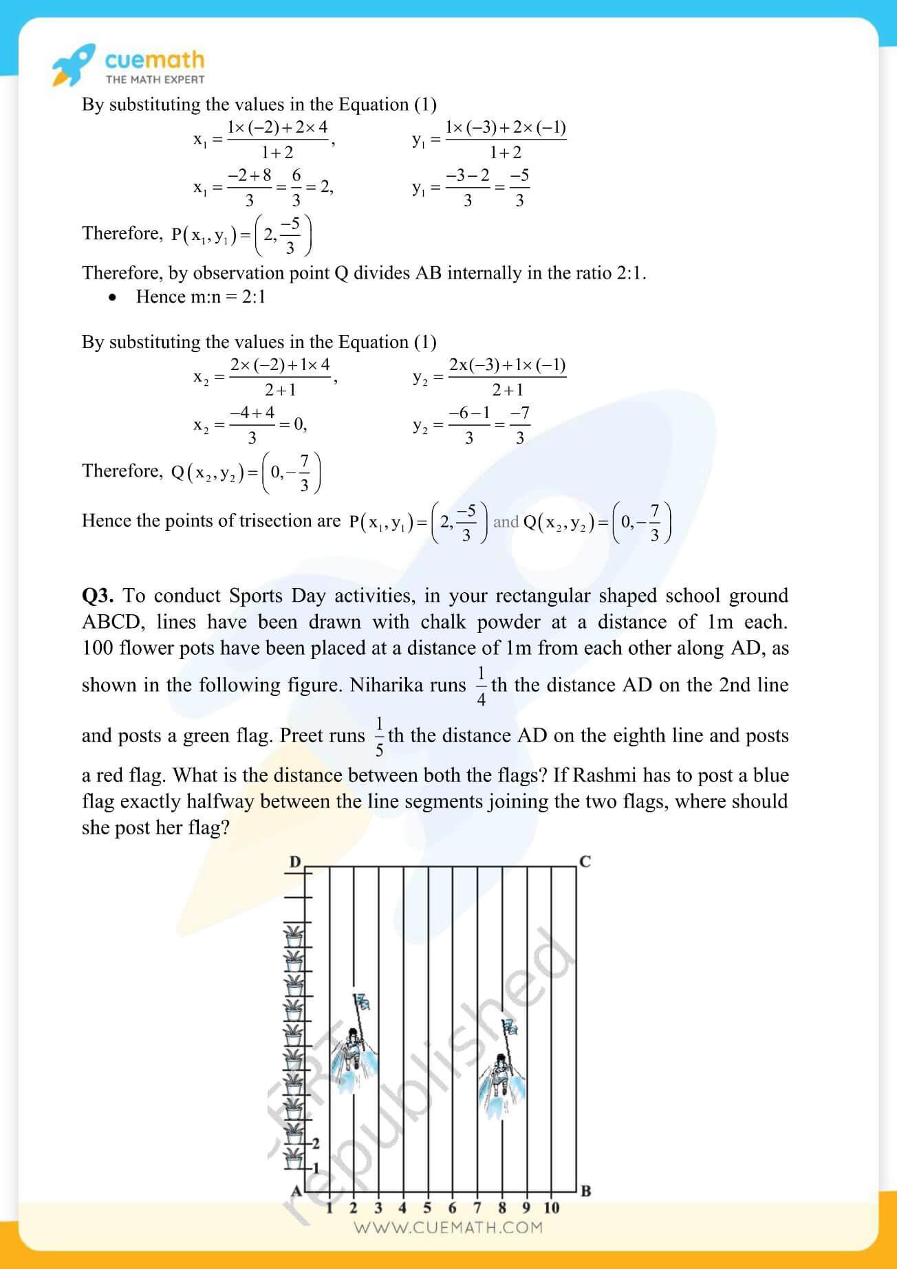 NCERT Solutions Class 10 Maths Chapter 7 Coordinate Geometry 23
