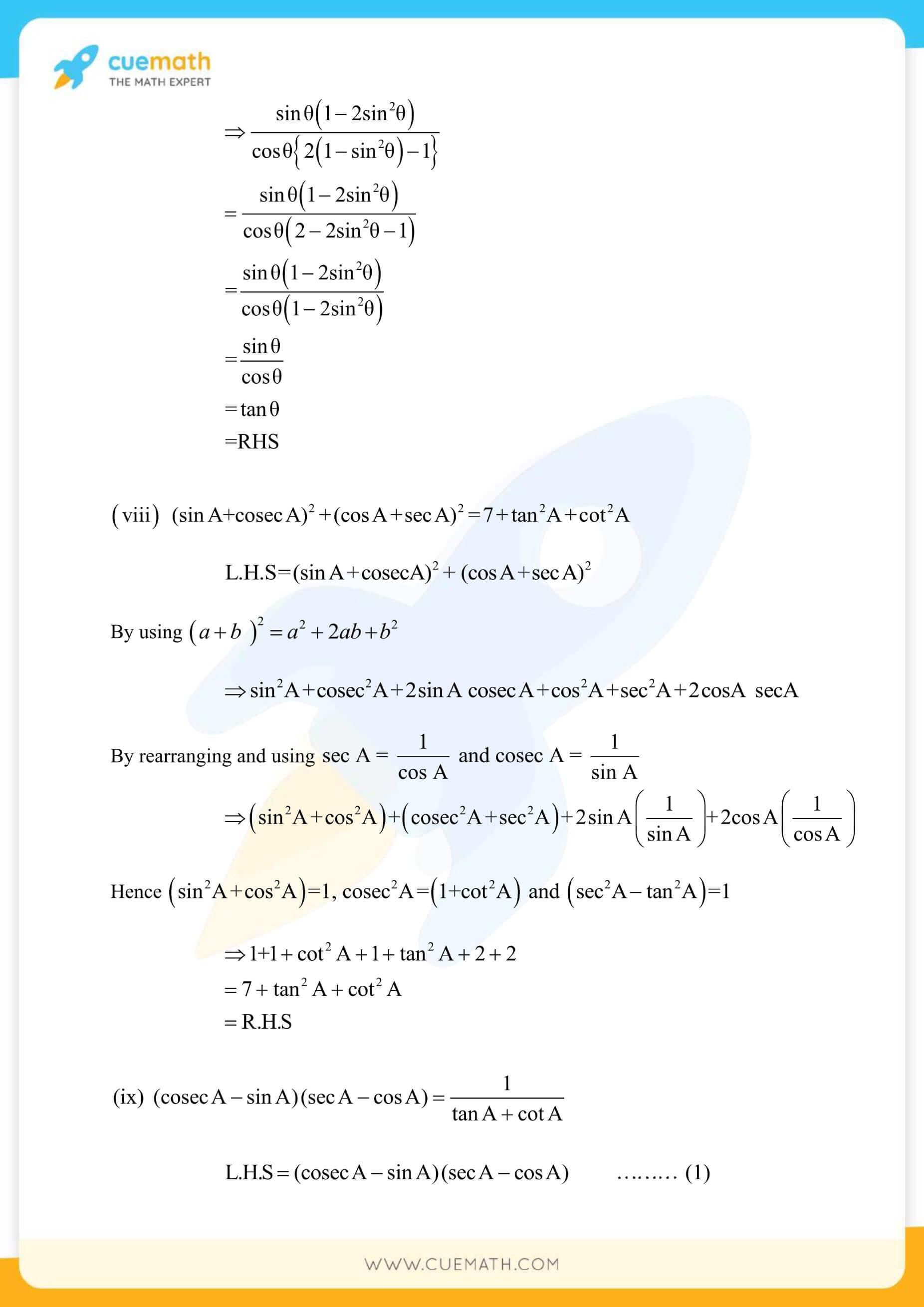 NCERT Solutions Class 10 Maths Chapter 8 Exercise 8.4 50