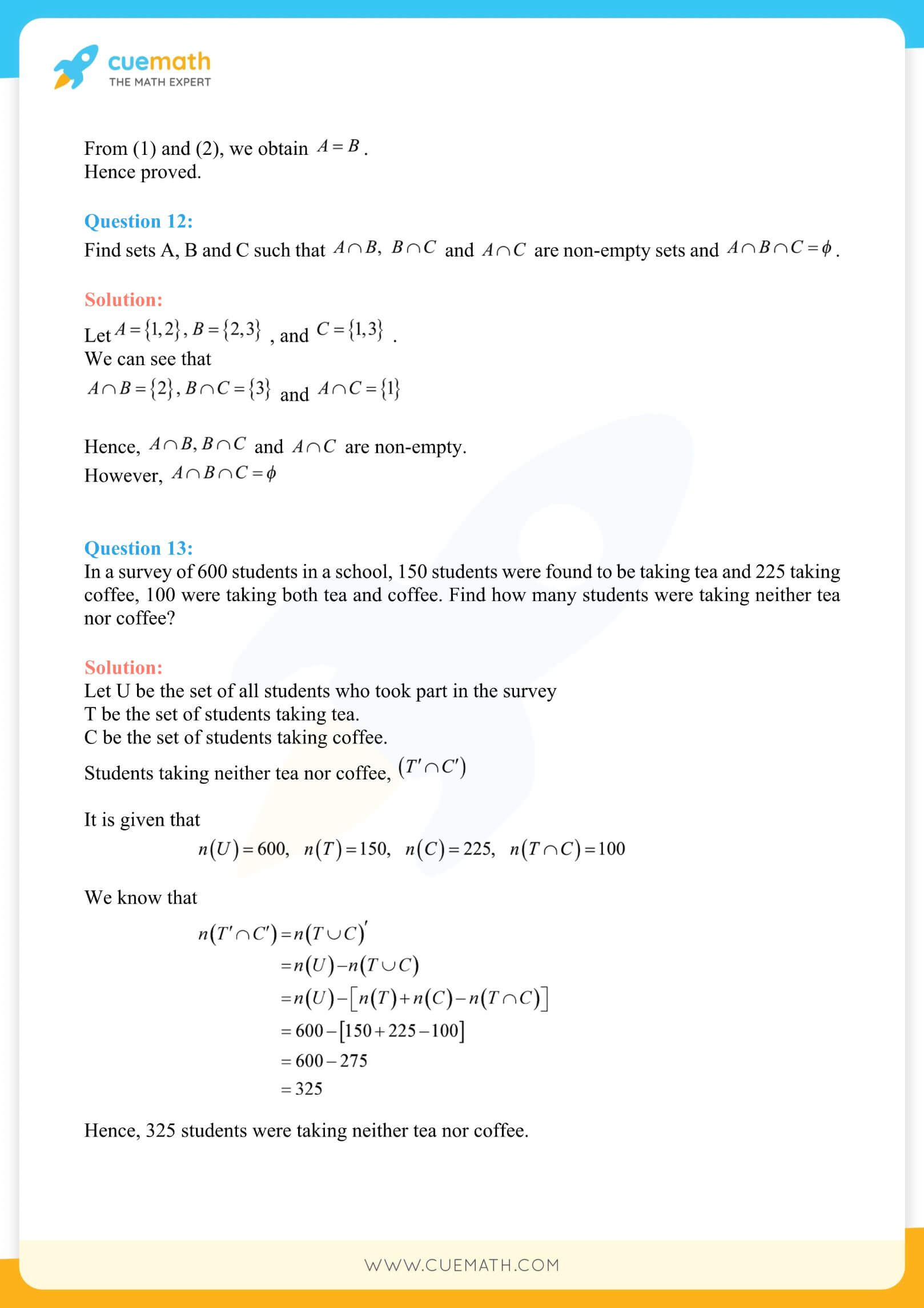 NCERT Solutions Class 11 Maths Chapter 1 Miscellaneous Exercise 38