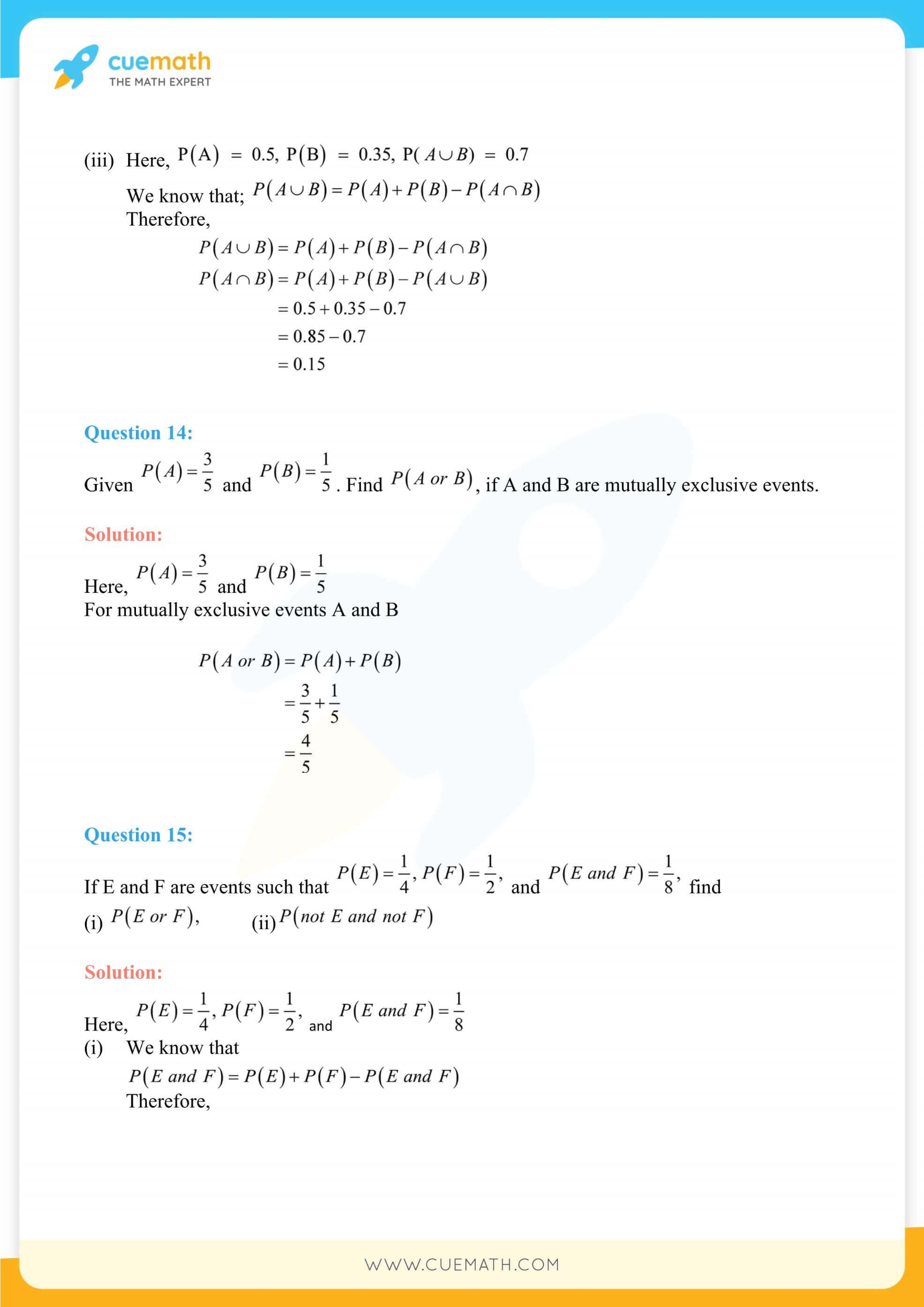 NCERT Solutions Class 11 Maths Chapter 16 28