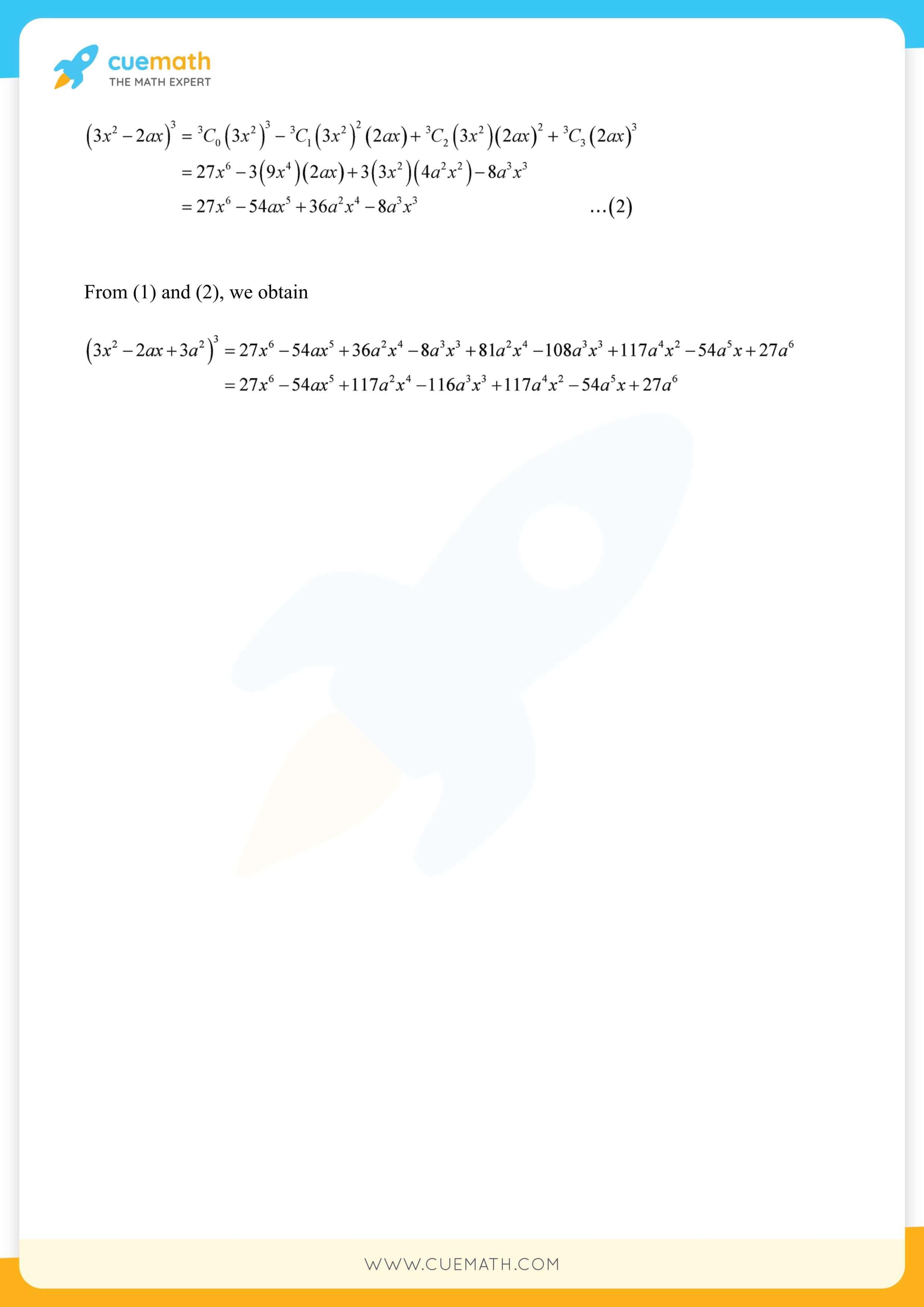 NCERT Solutions Class 11 Maths Chapter 8 26