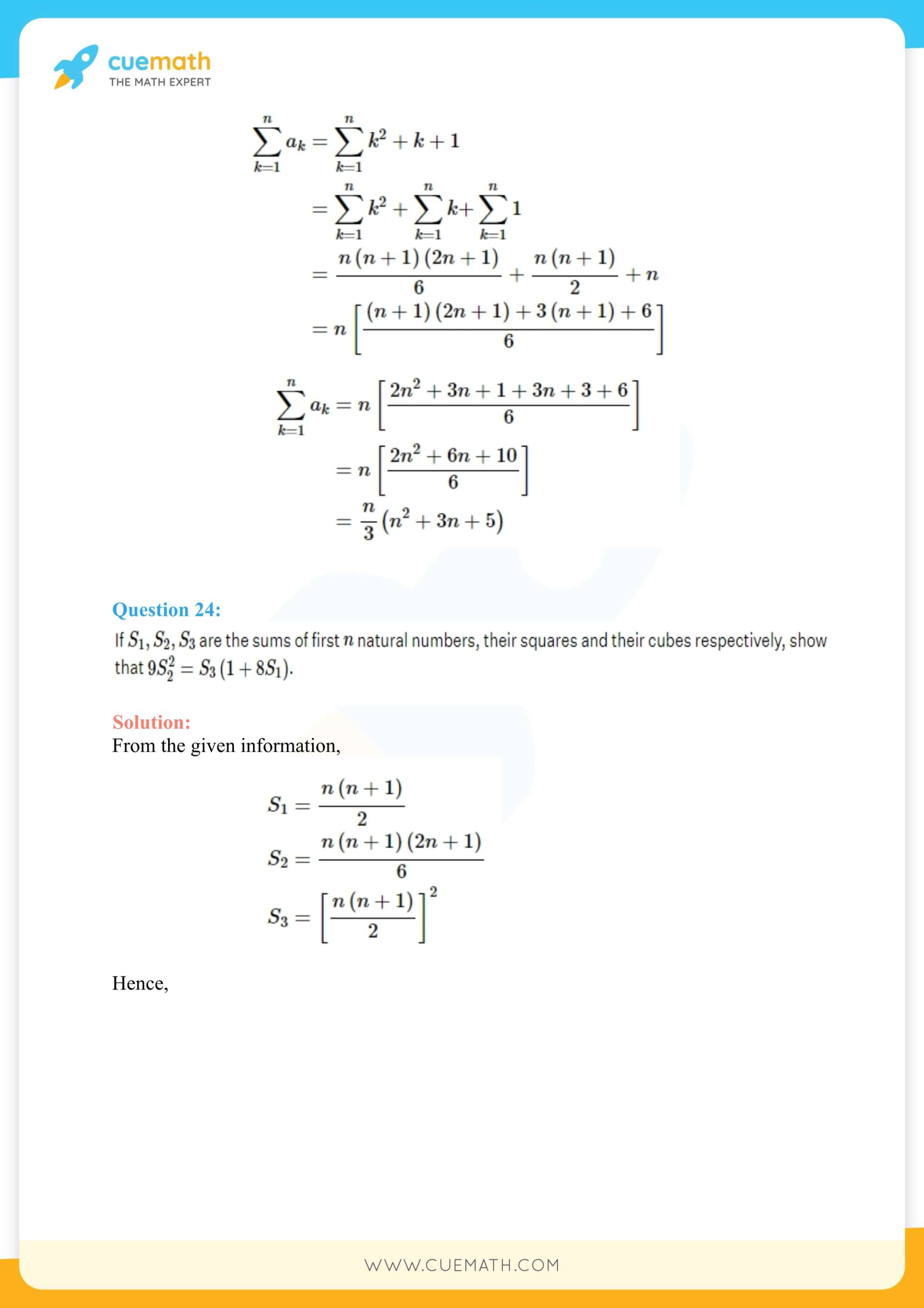 NCERT Solutions Class 11 Maths Chapter 9 Miscellaneous Exercise 82