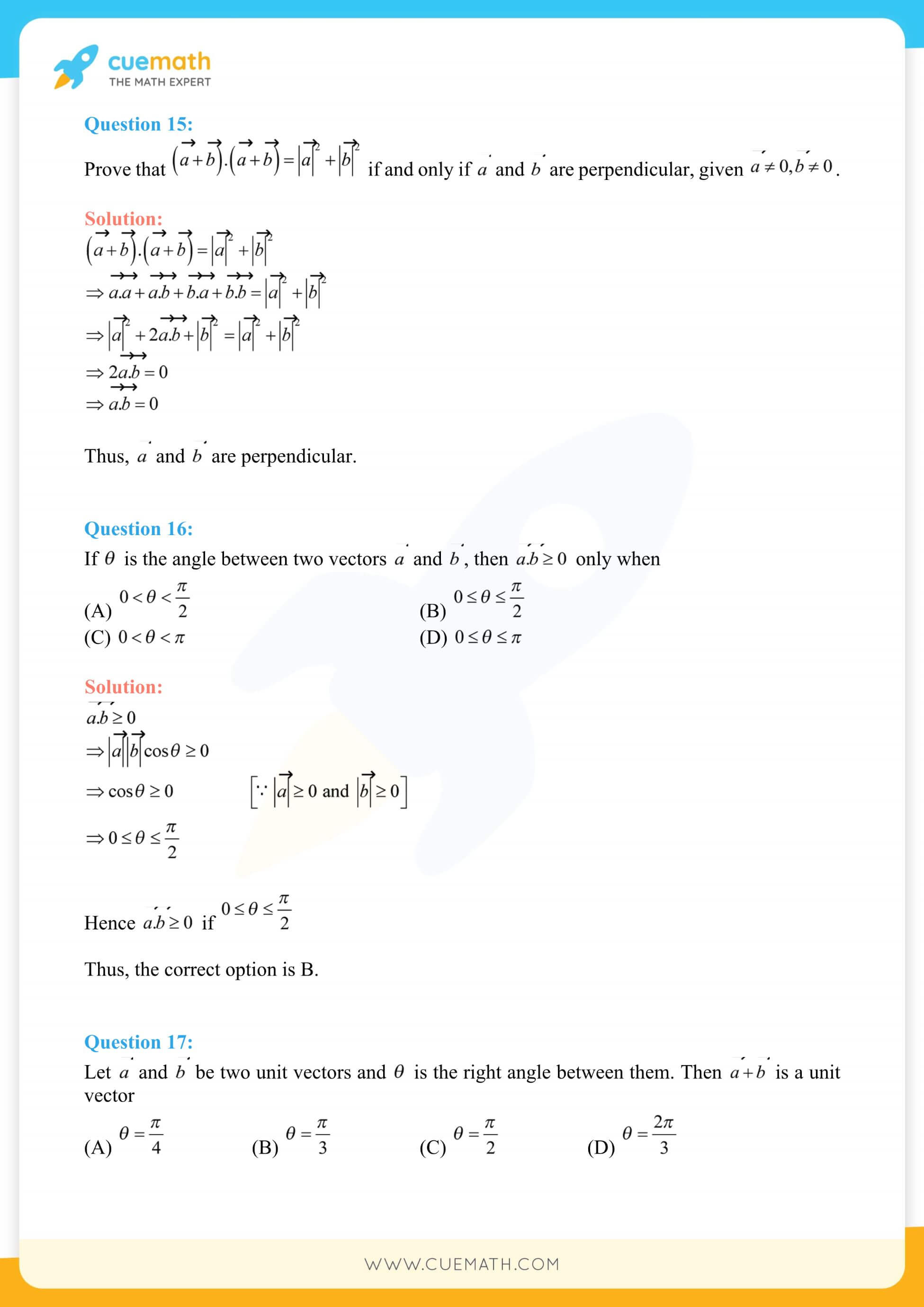 NCERT Solutions Class 12 Maths Chapter 10 Miscellaneous Exercise 43