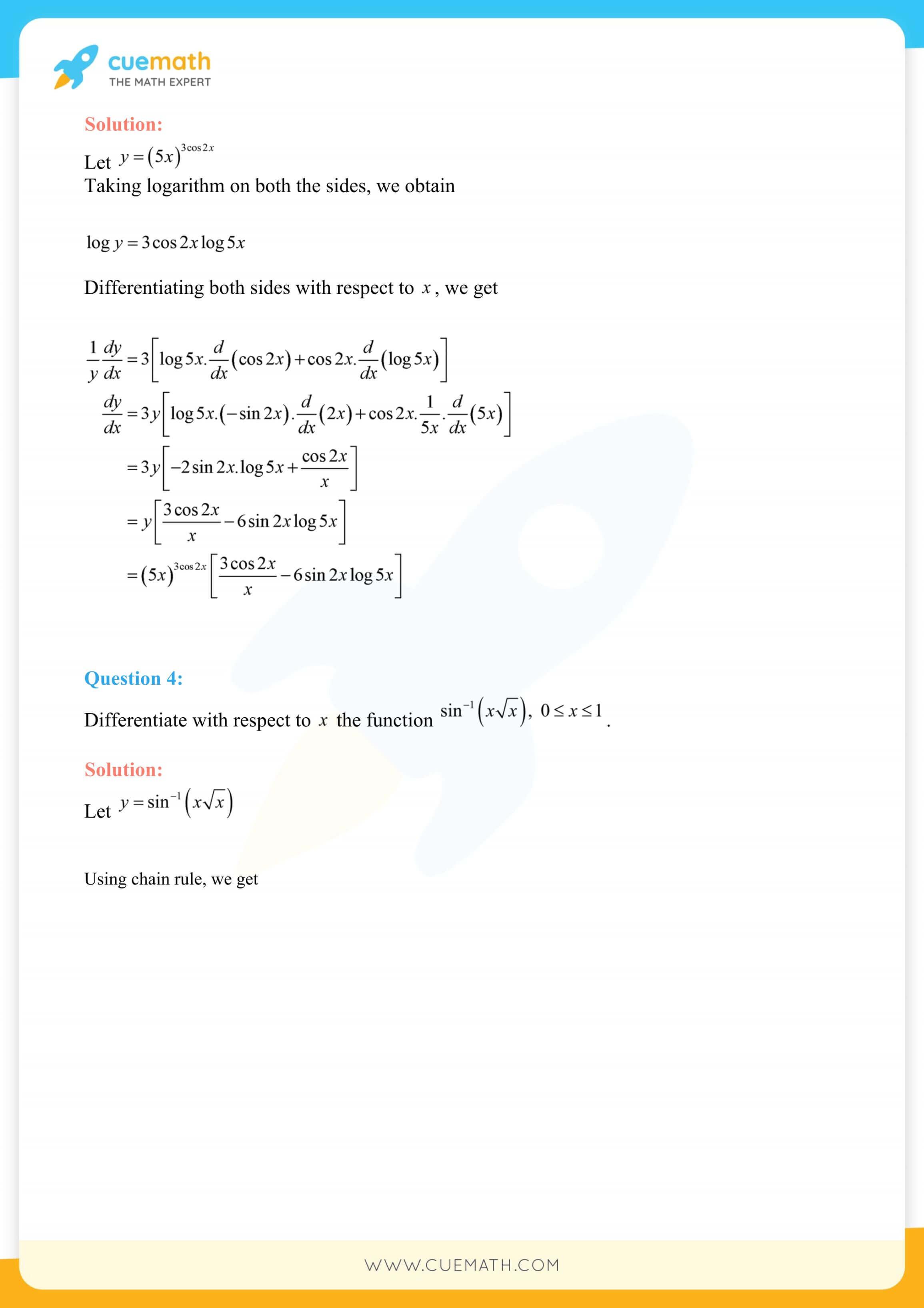 NCERT Solutions Class 12 Maths Chapter 5 117