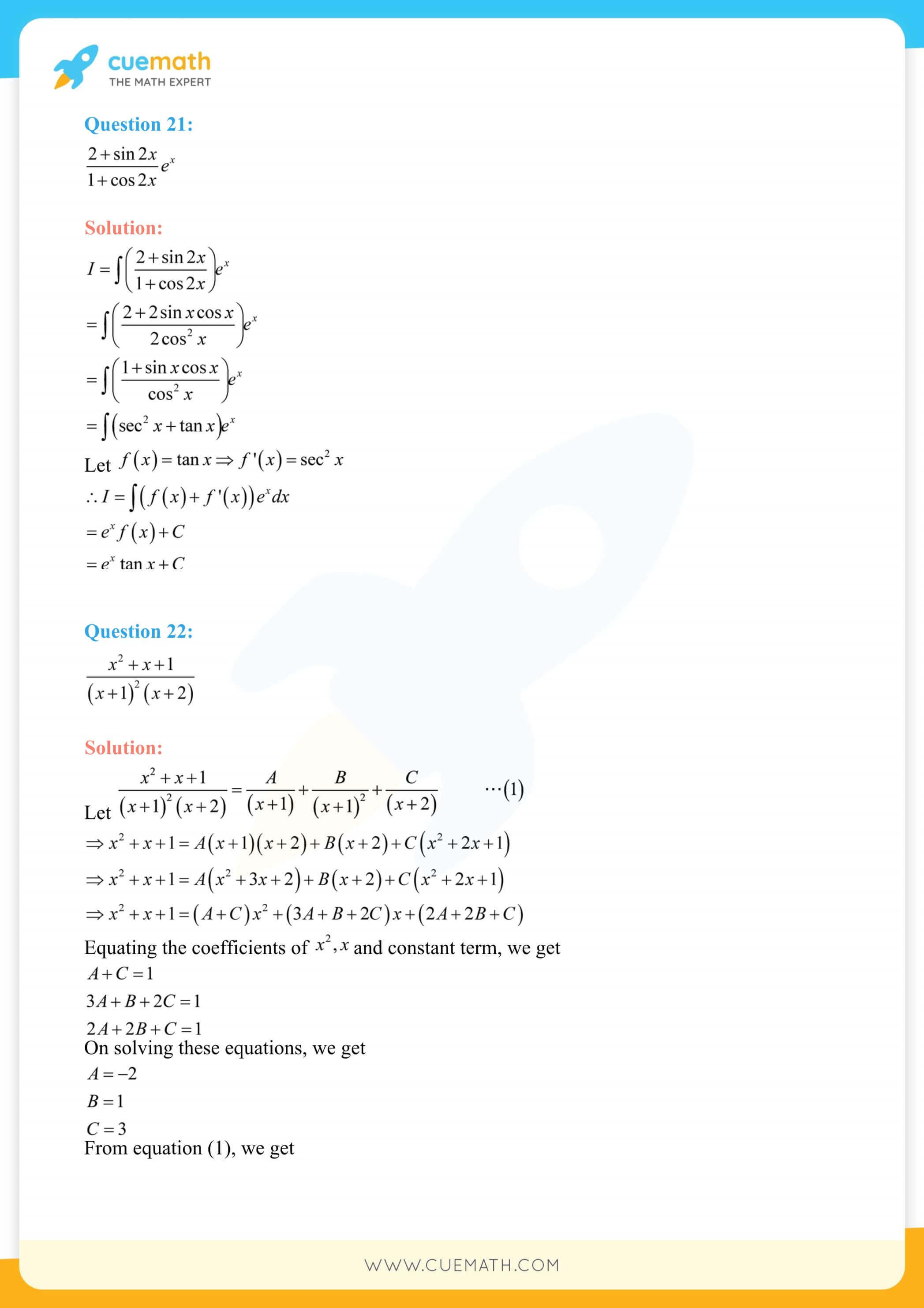 NCERT Solutions Class 12 Maths Chapter 7 Miscellaneous Exercise 156