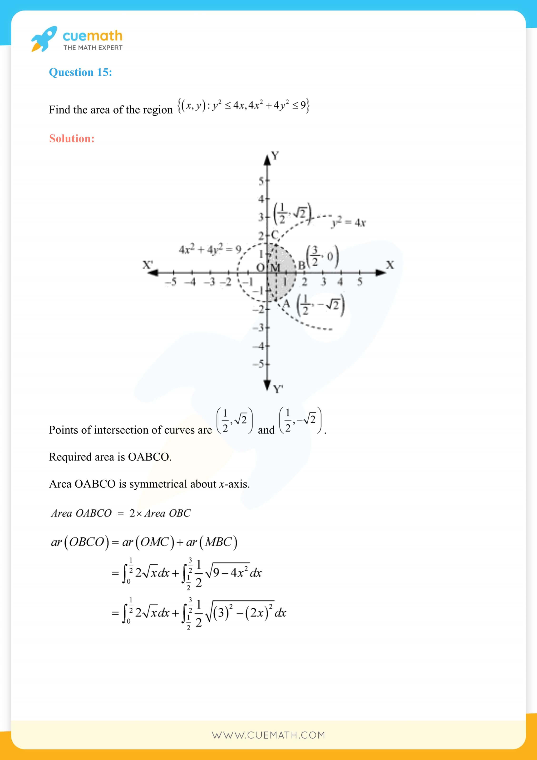 NCERT Solutions Class 12 Maths Chapter 8 Miscellaneous Exercise 37