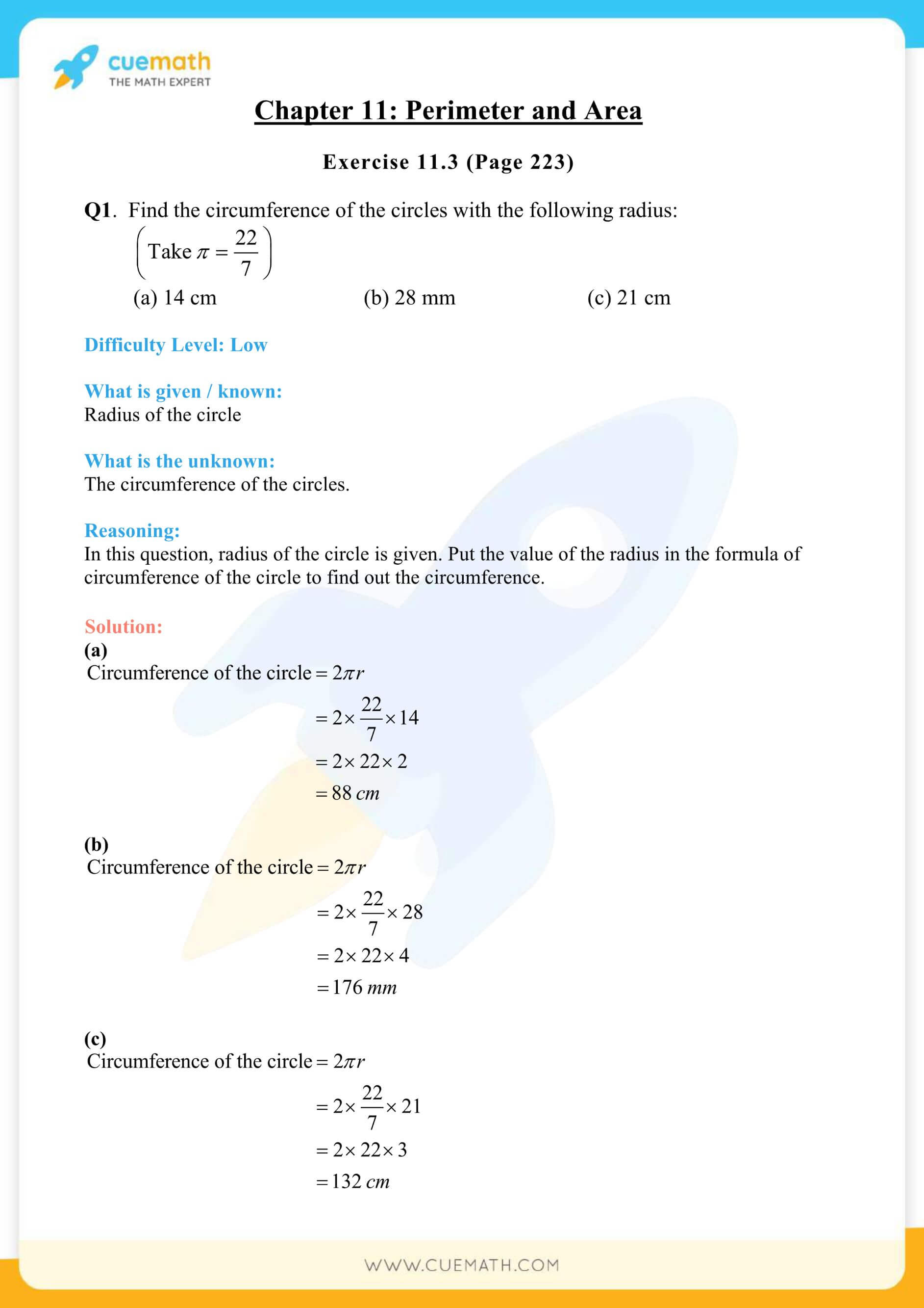 NCERT Solutions Class 7 Math Chapter 11 Exercise 11.3 18