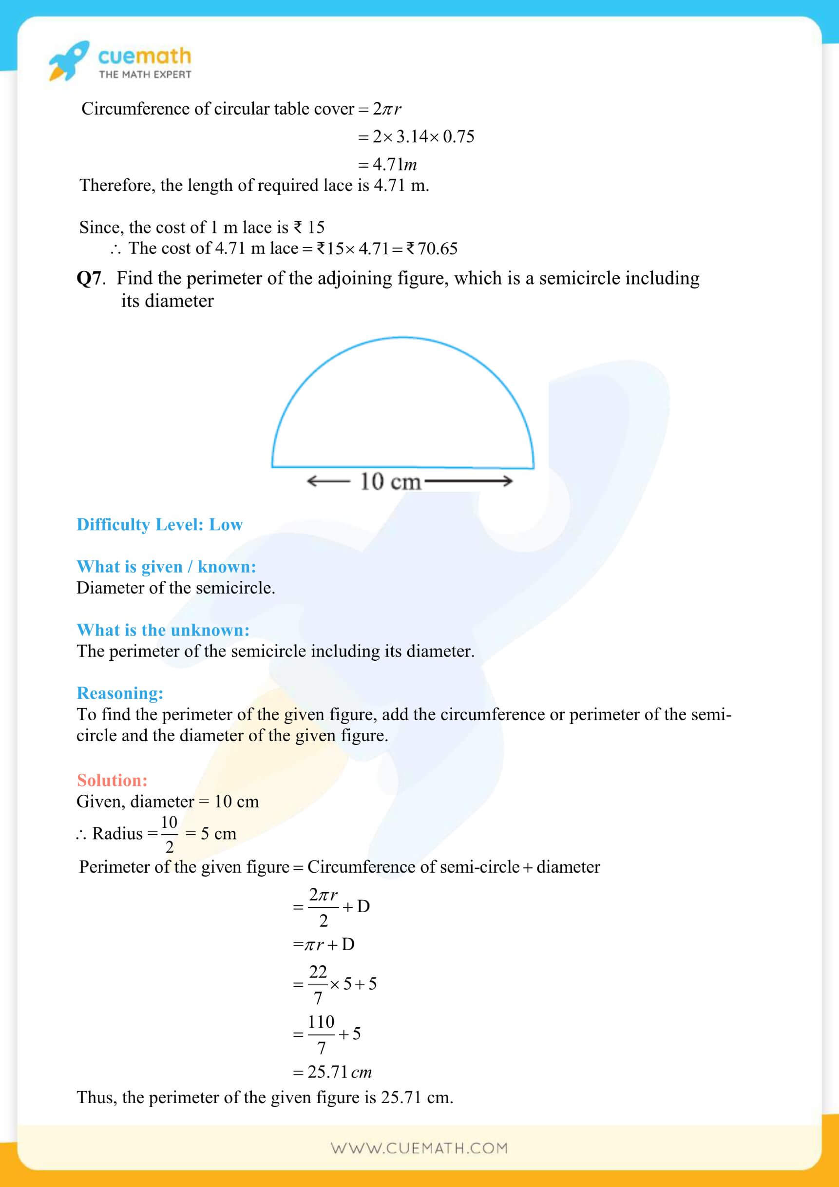 NCERT Solutions Class 7 Math Chapter 11 Exercise 11.3 23