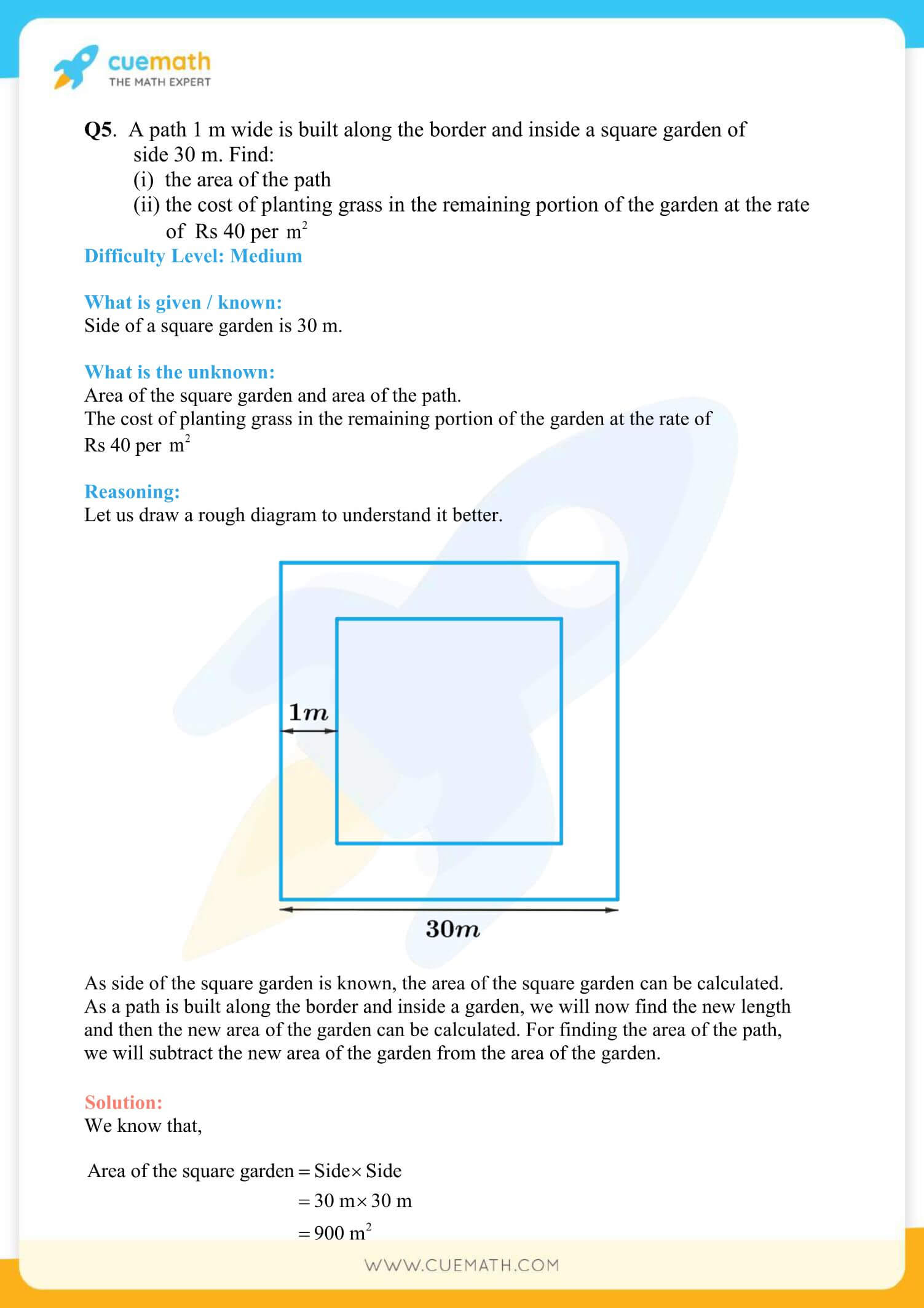 NCERT Solutions Class 7 Math Chapter 11 Exercise 11.4 37