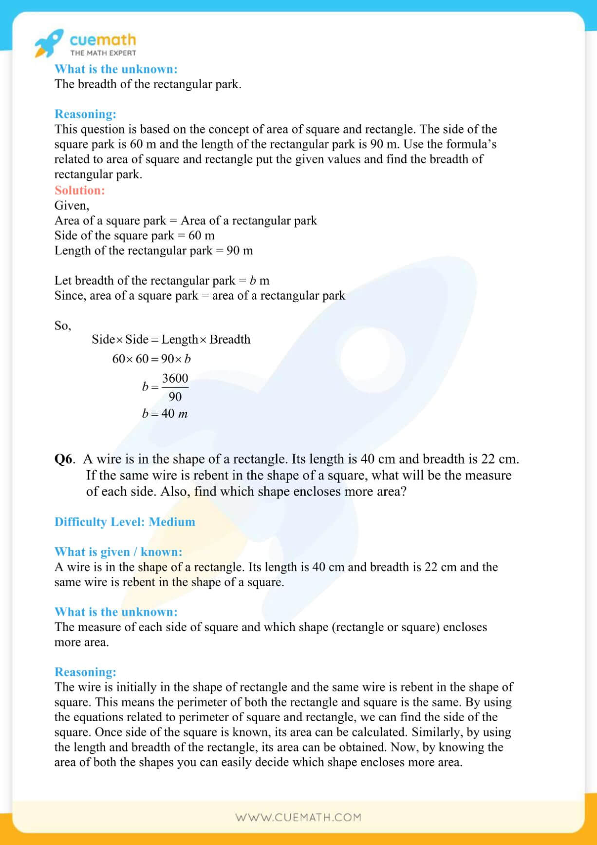 NCERT Solutions Class 7 Math Chapter 11 Exercise 11.1 4