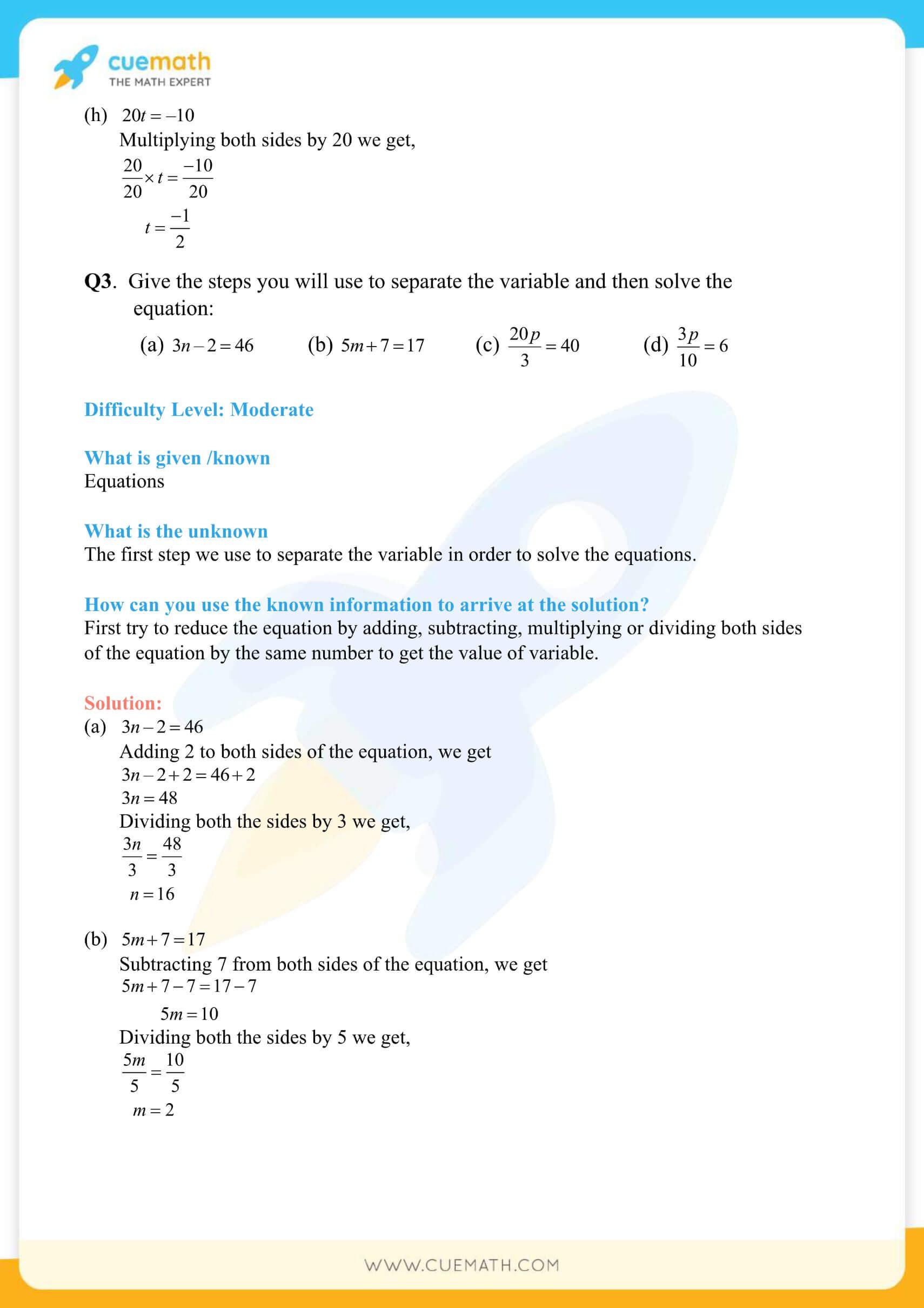 NCERT Solutions Class 7 Math Chapter 4 Simple Equations 12