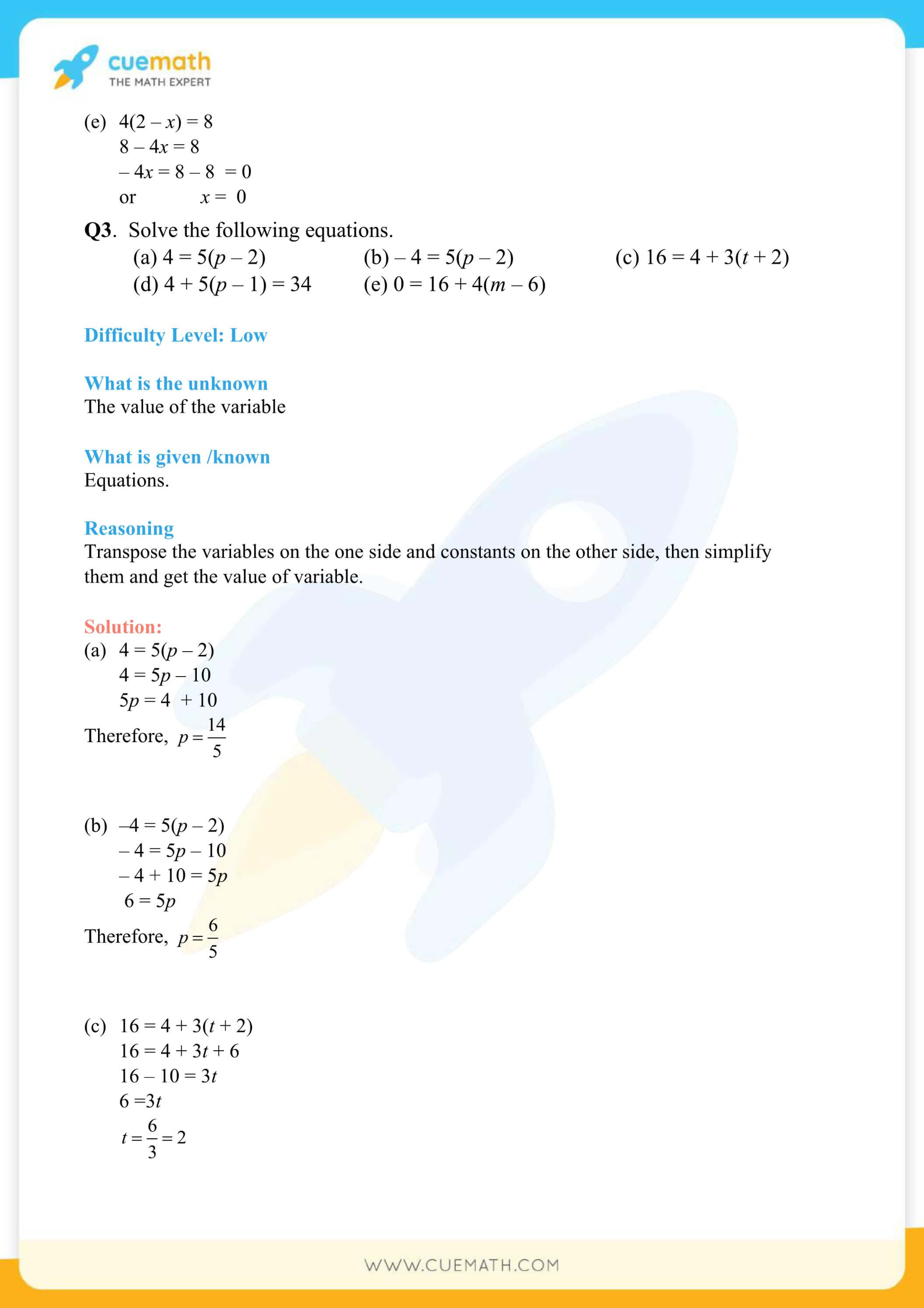 NCERT Solutions Class 7 Math Chapter 4 Simple Equations 21
