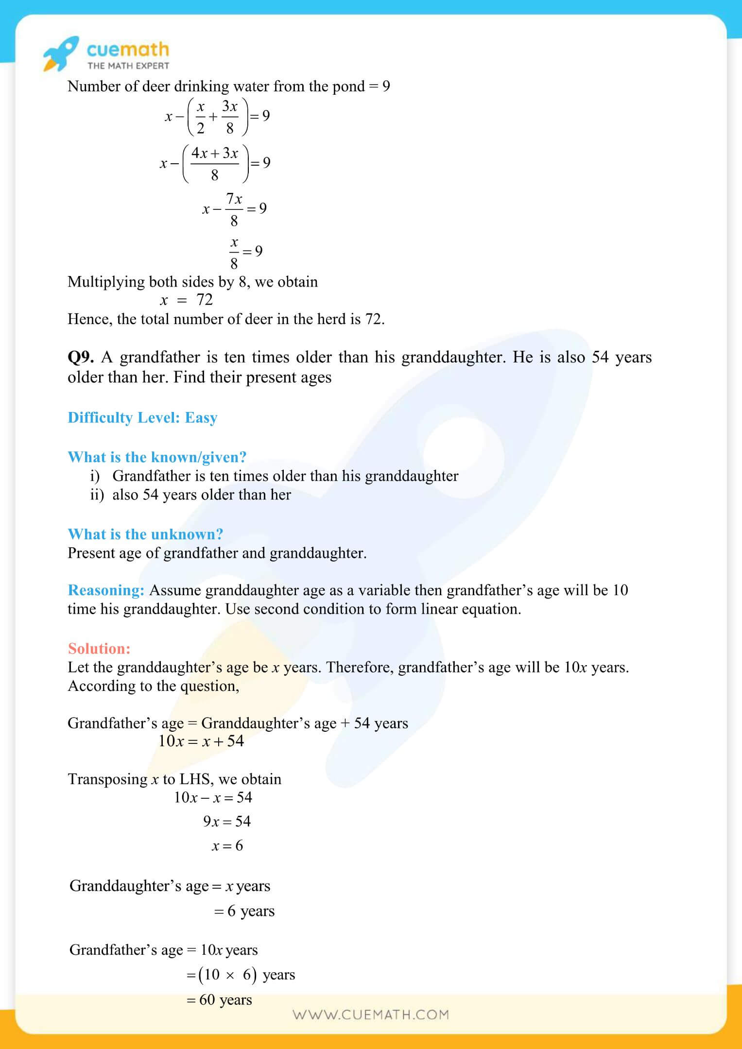 NCERT Solutions Class 8 Math Chapter 2 Exercise 2.4 31