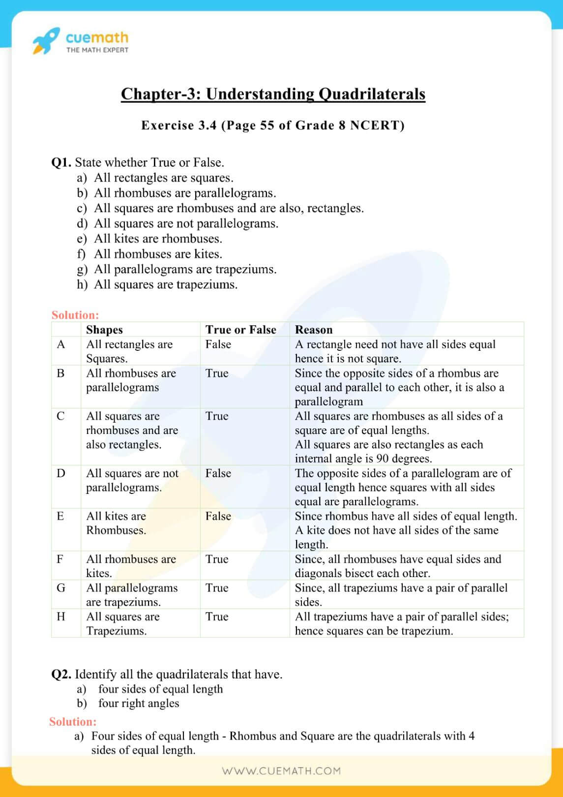 NCERT Solutions Class 8 Math Chapter 3 Exercise 3.4 38