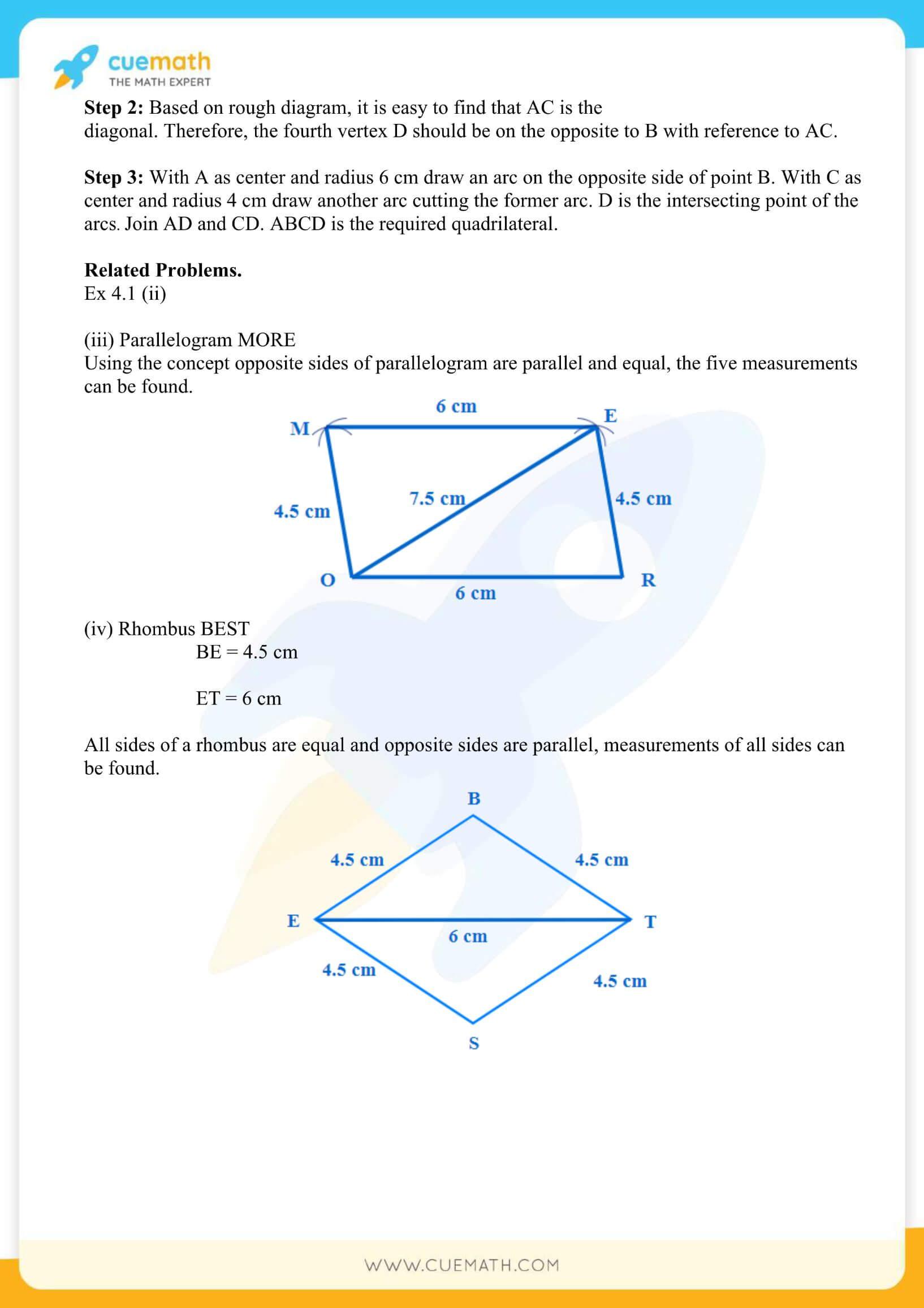 NCERT Solutions Class 8 Math Chapter 4 Practical Geometry 3