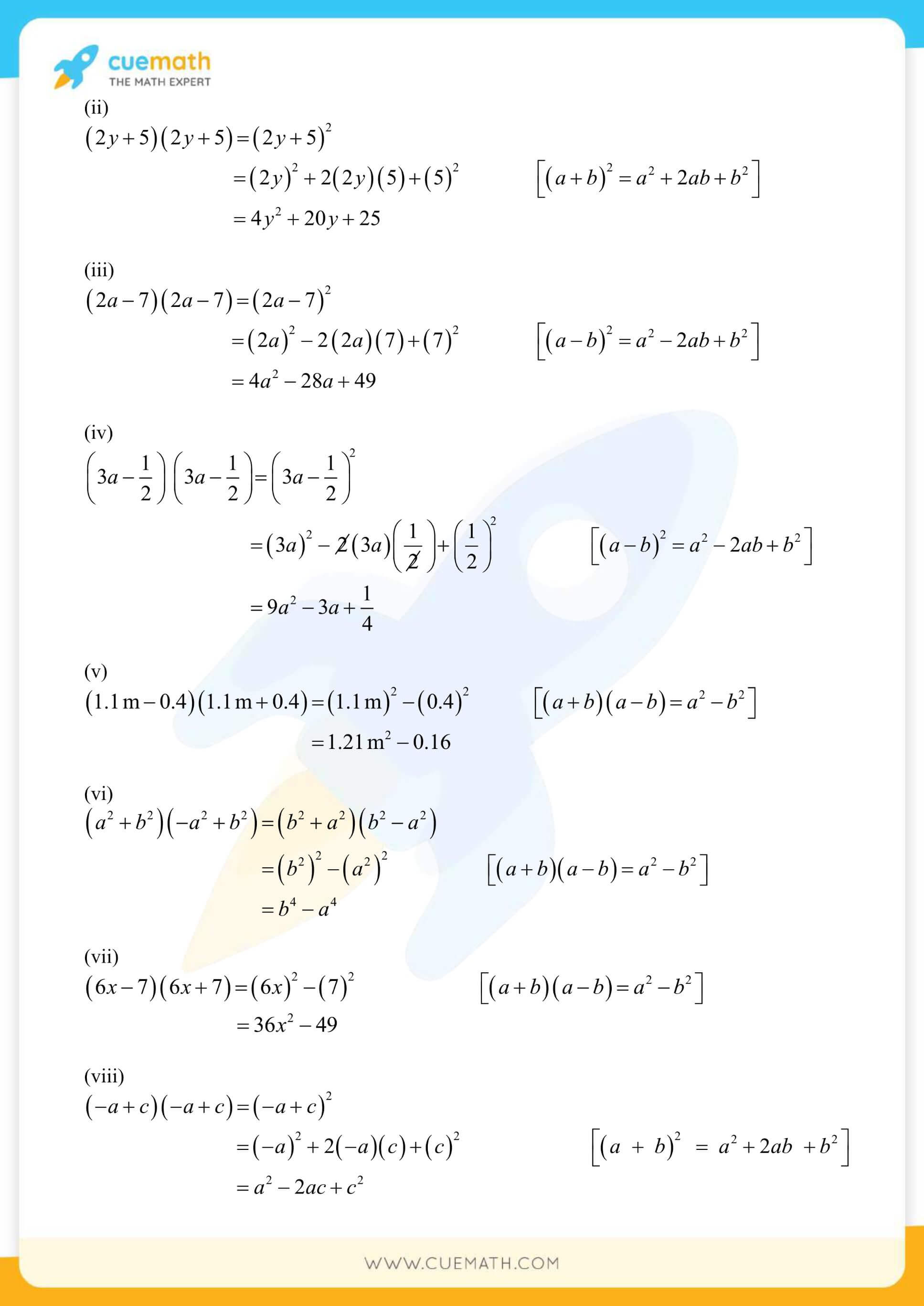 NCERT Solutions Class 8 Math Chapter 9 Exercise 9.5 21