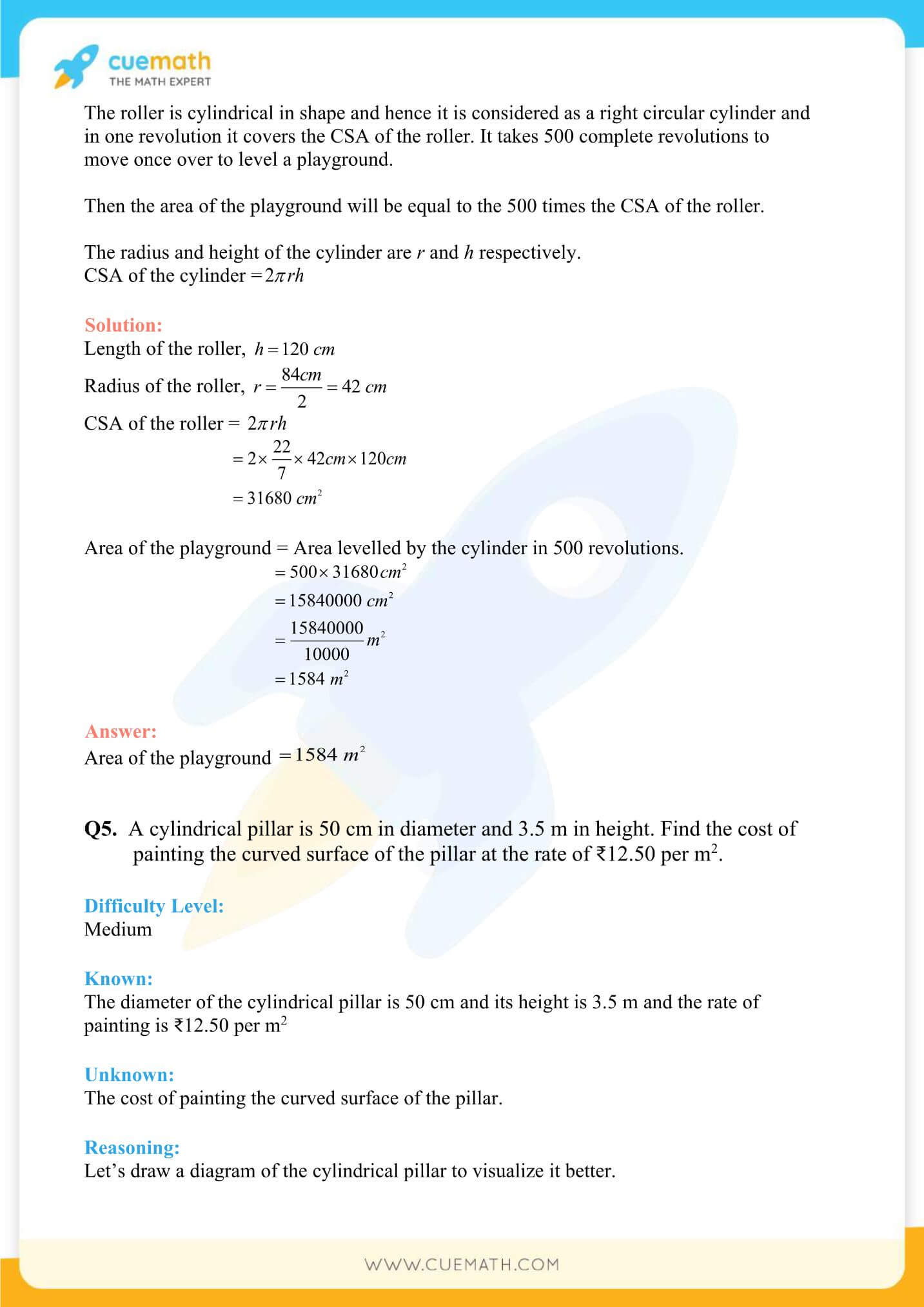 NCERT Solutions Class 9 Math Chapter 13 Exercise 13.2 17