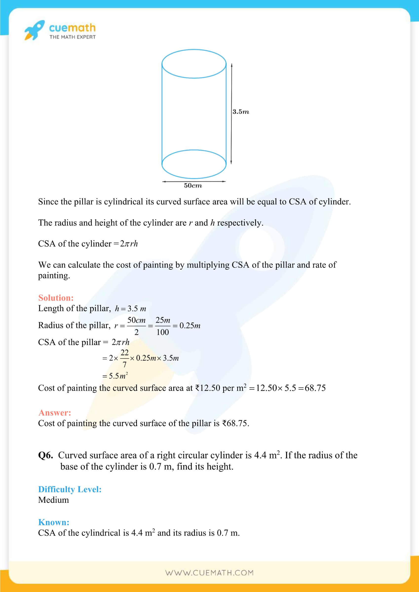 NCERT Solutions Class 9 Math Chapter 13 Exercise 13.2 18