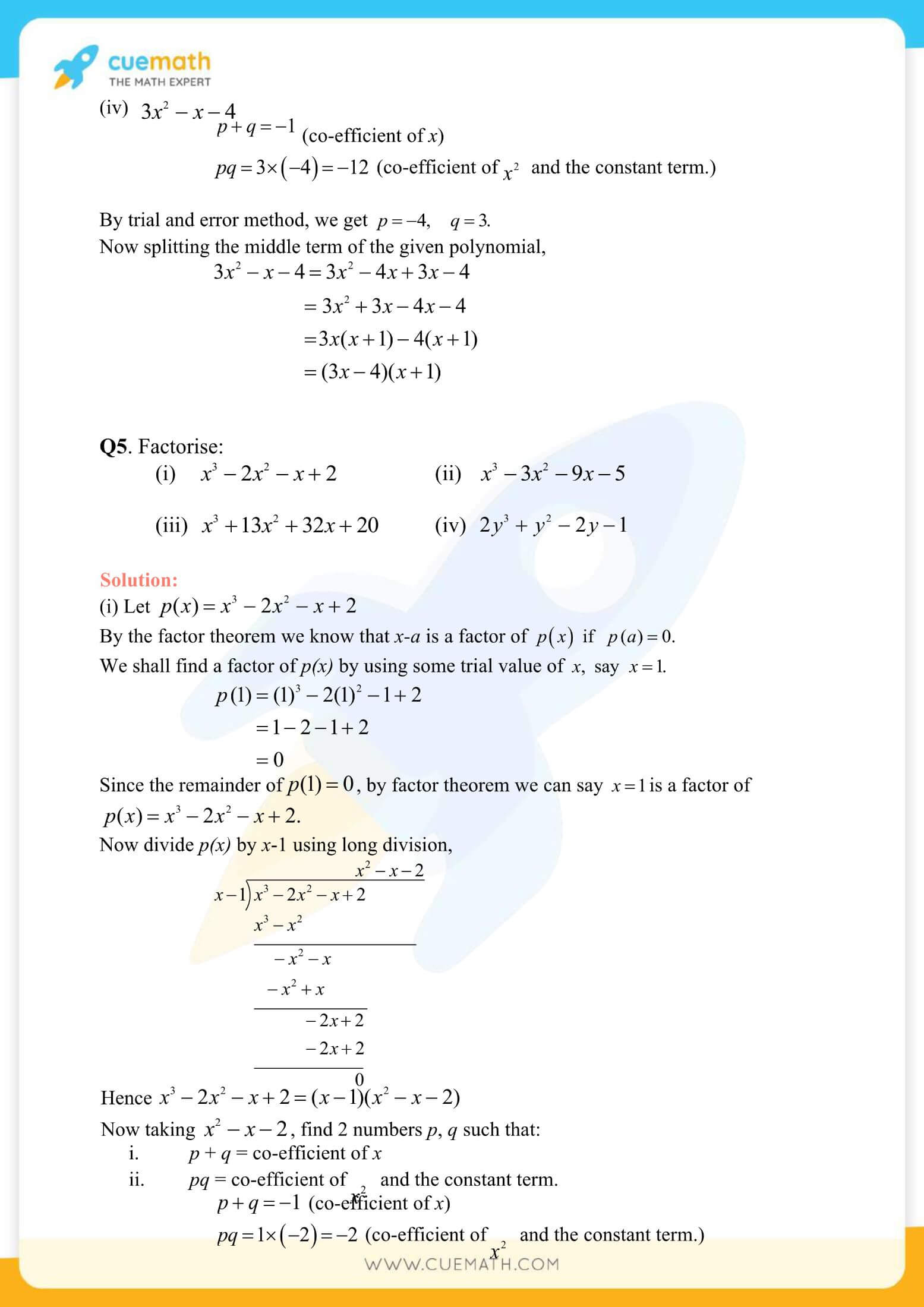 NCERT Solutions Class 9 Math Chapter 2 Exercise 2.4 17