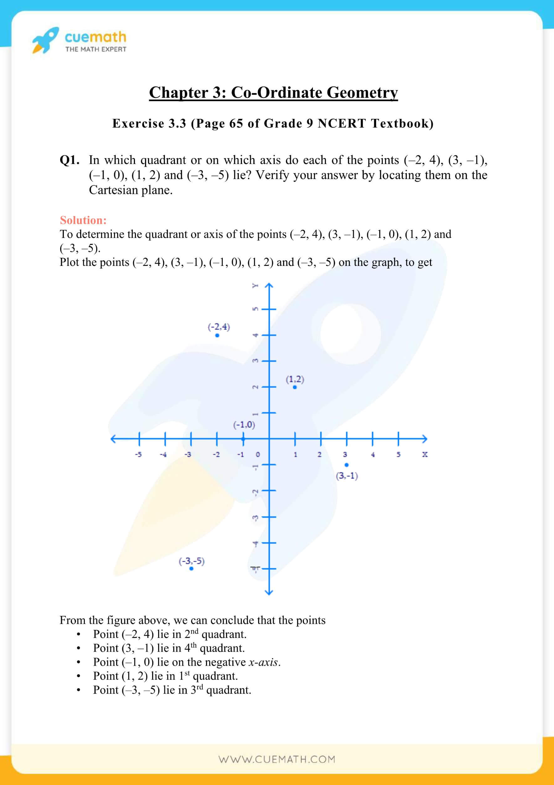 NCERT Solutions Class 9 Math Chapter 3 Exercise 3.3 7