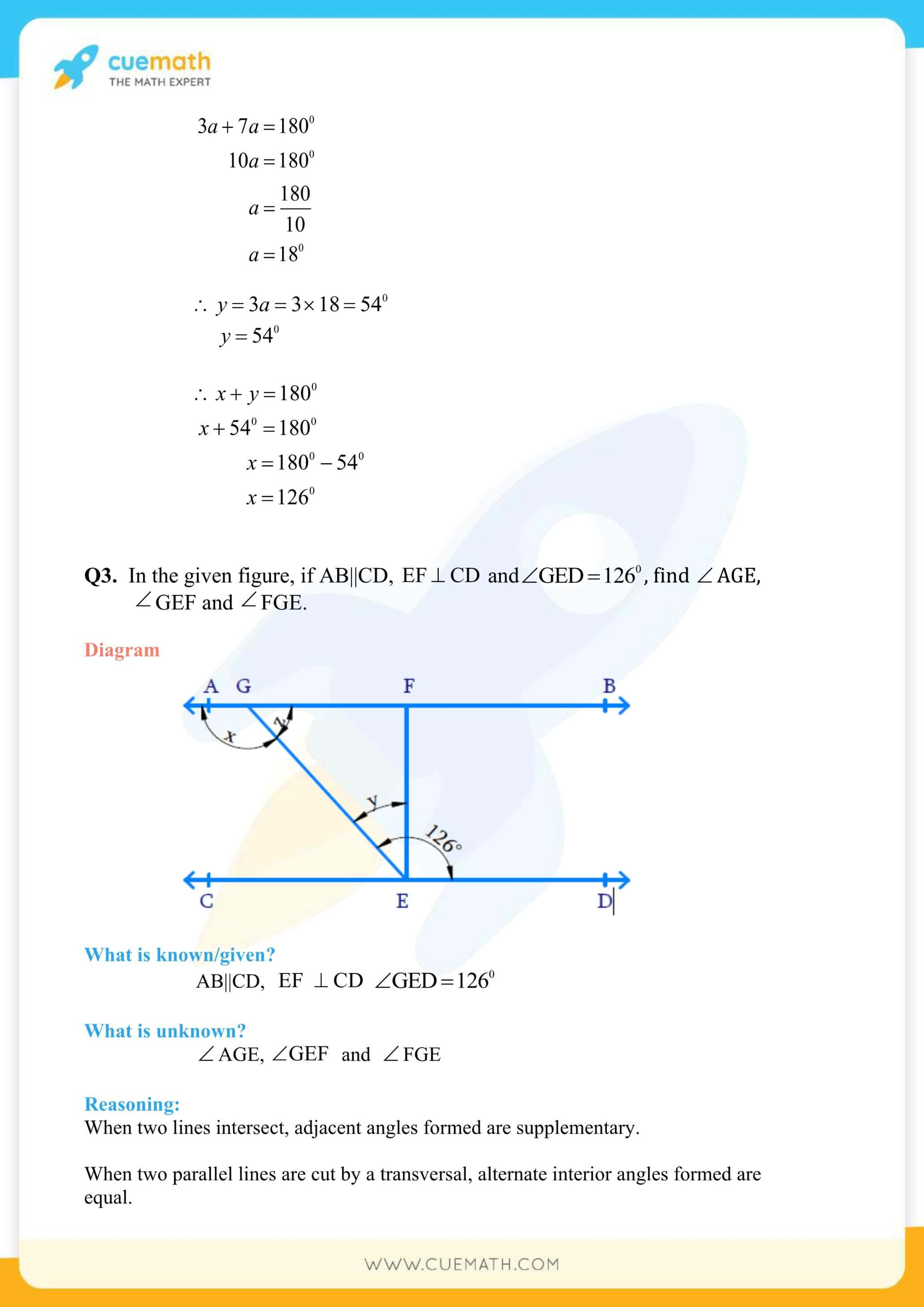 NCERT Solutions Class 9 Math Chapter 6 Lines And Angles 11