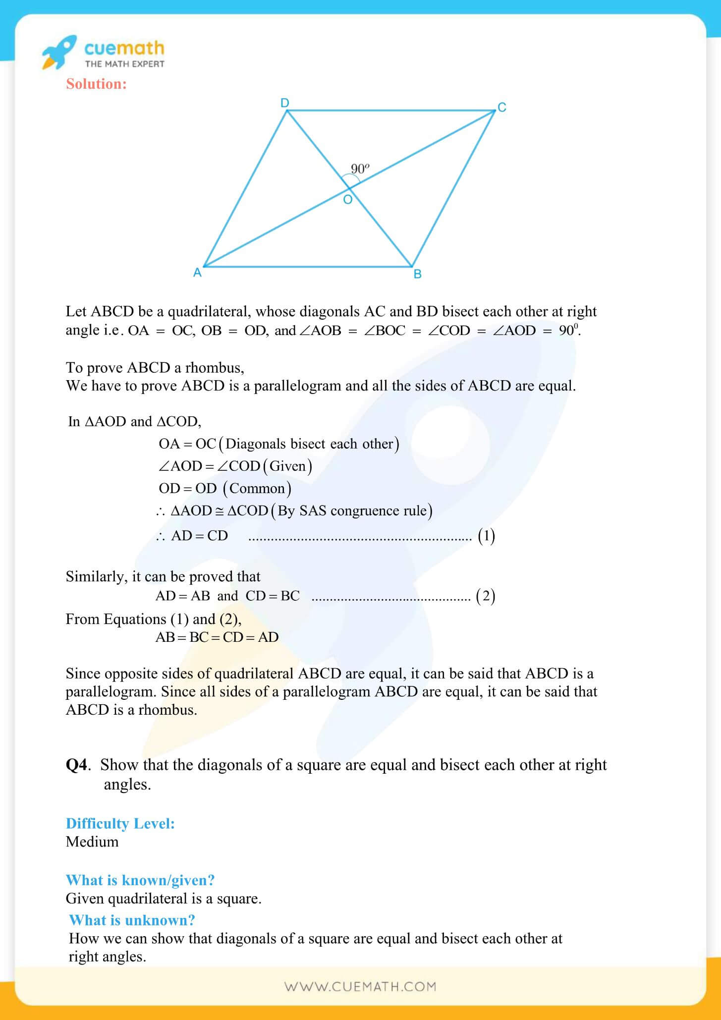 NCERT Solutions Class 9 Math Chapter 8 Exercise 8.1 3