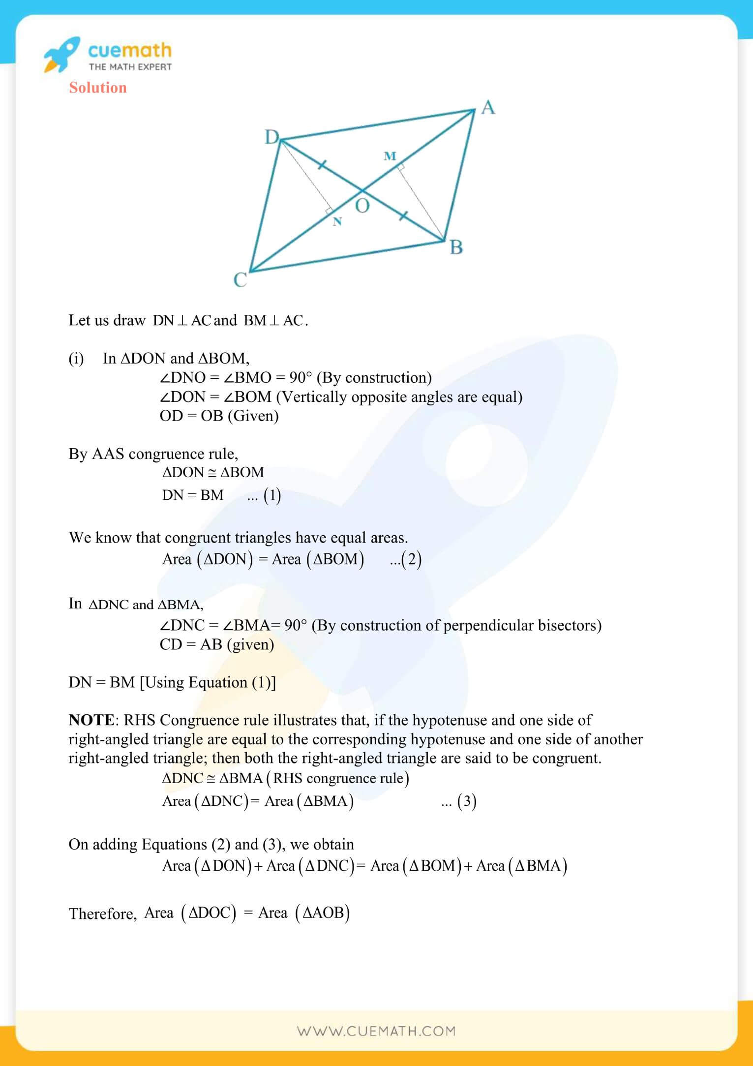 NCERT Solutions Class 9 Math Chapter 9 Areas Of Parallelograms And Triangles 19