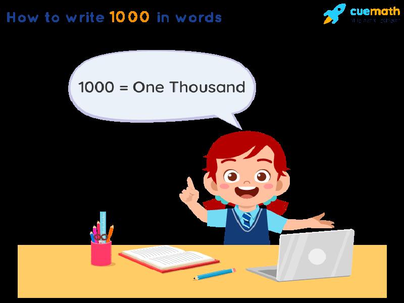 1000 in Words