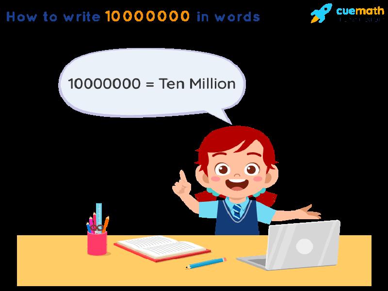 10000000 in Words