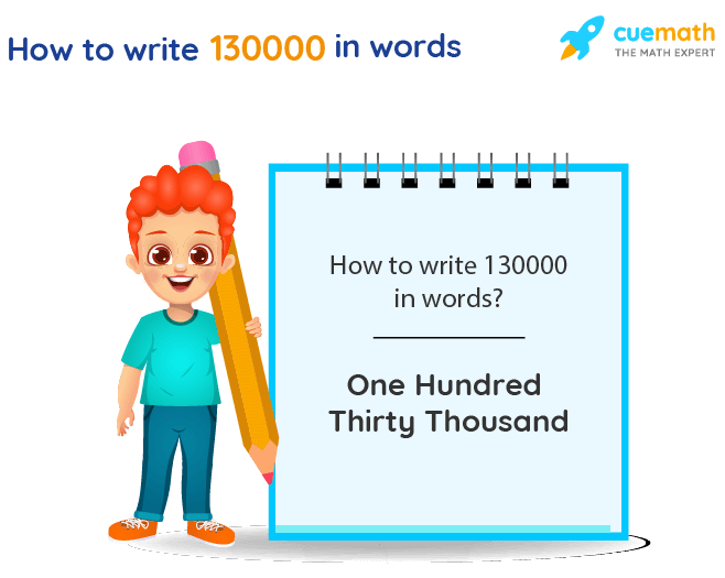 130000 in Words