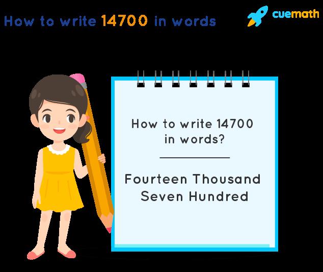 14700 in Words