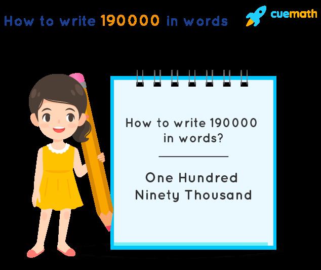 190000 in Words