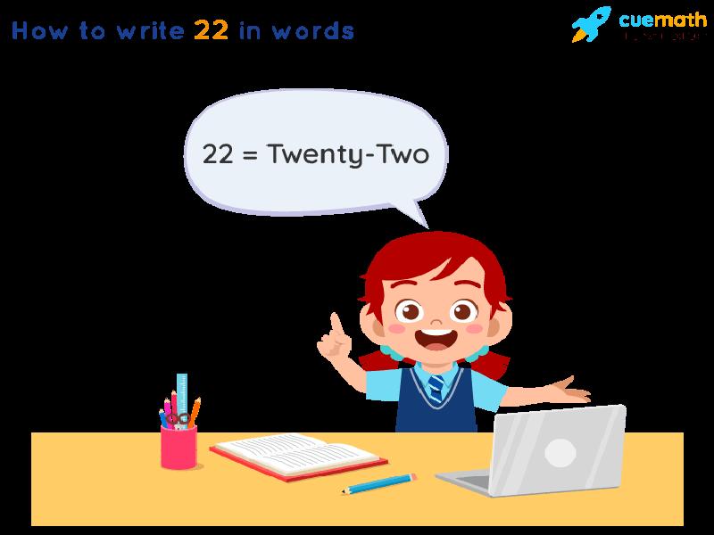22 in Words