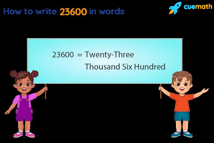 23600 in Words
