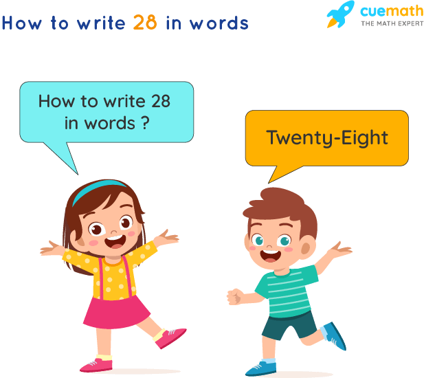 28 in Words