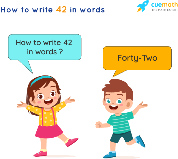 42 in Words
