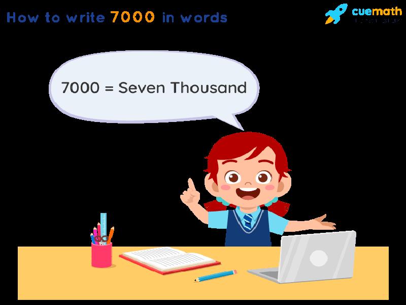 7000 in Words